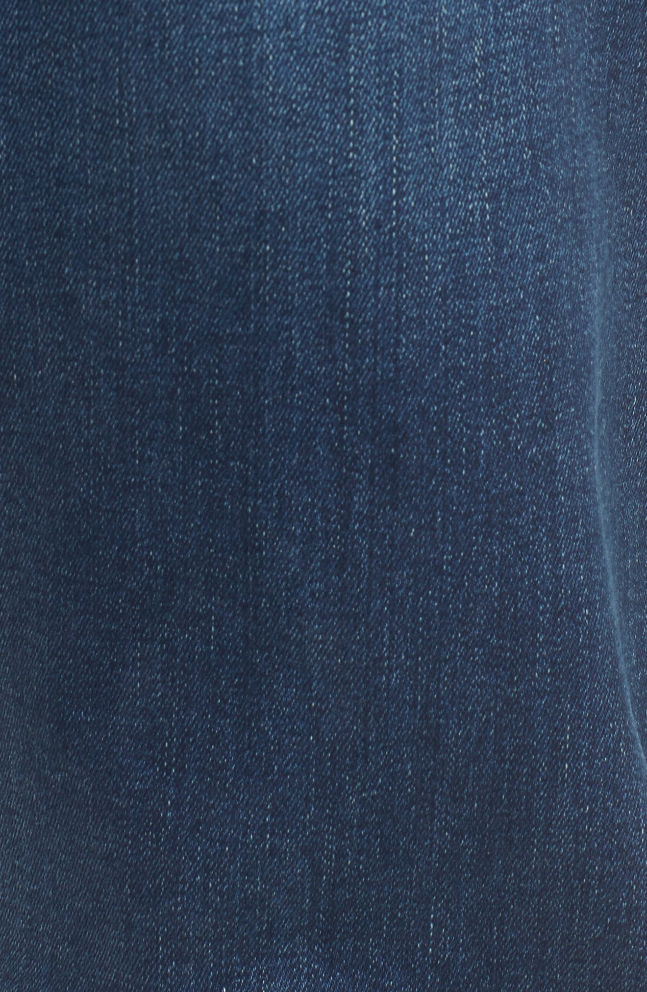 7 FOR ALL MANKIND<SUP>®</SUP>, The Straight - Luxe Performance Slim Straight Leg Jeans, Alternate thumbnail 5, color, LUXE PERFORMANCE UNION
