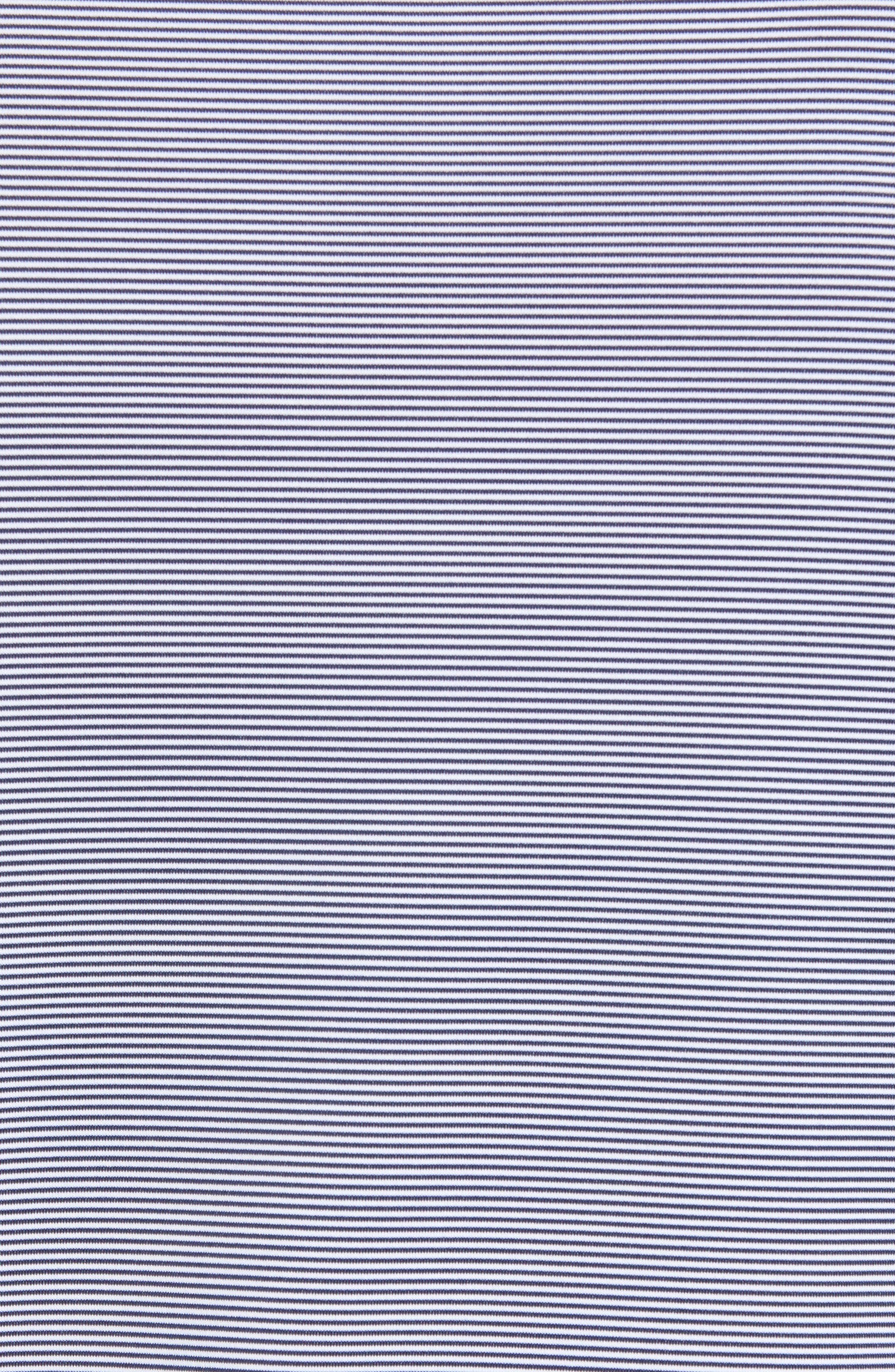PETER MILLAR, Perth Performance Quarter Zip Pullover, Alternate thumbnail 5, color, BLUE