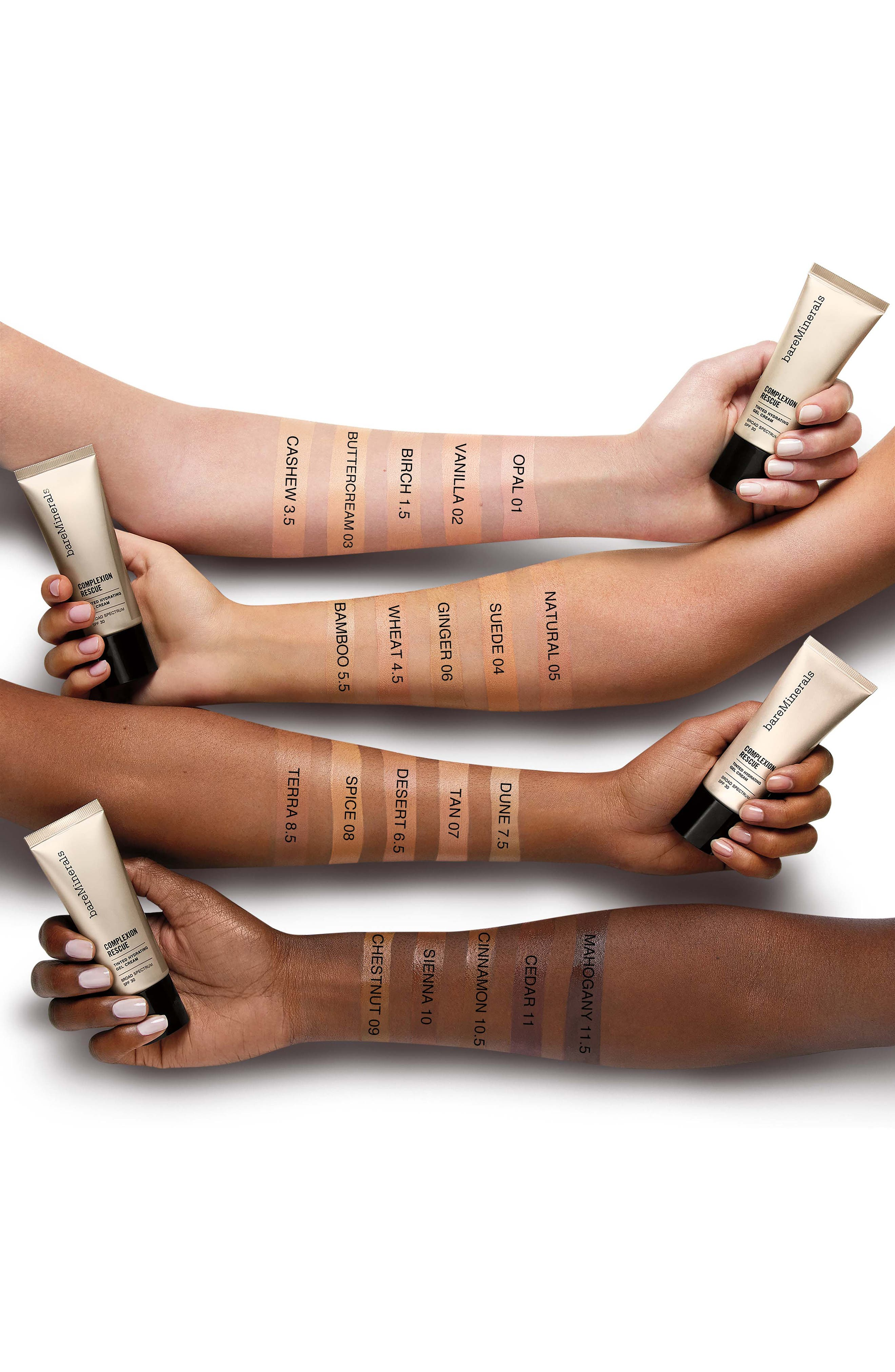 BAREMINERALS<SUP>®</SUP>, COMPLEXION RESCUE<sup>™</sup> Tinted Moisturizer, Alternate thumbnail 4, color, 07 TAN