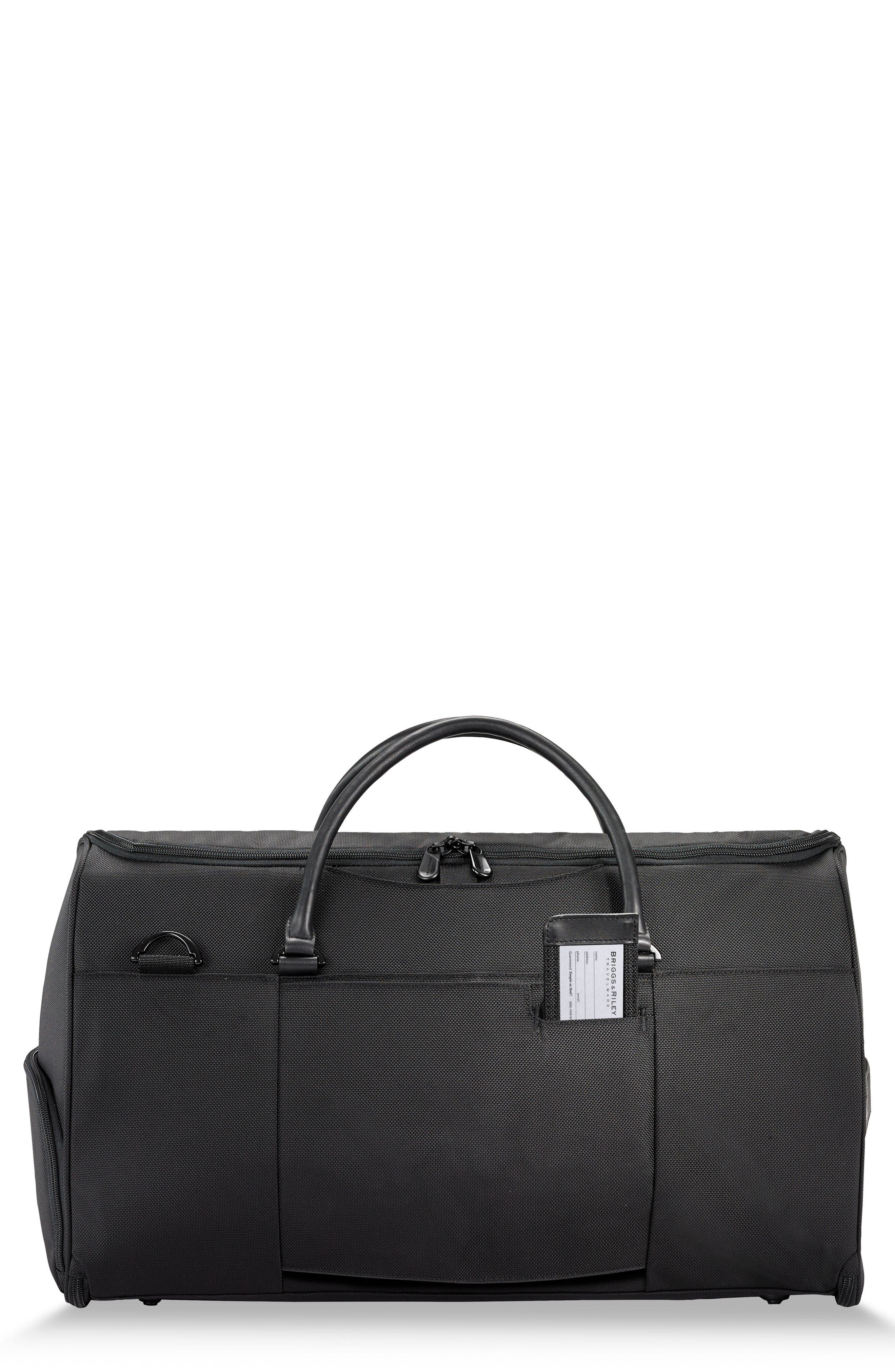 BRIGGS & RILEY Baseline Suiter Duffle Bag, Main, color, BLACK