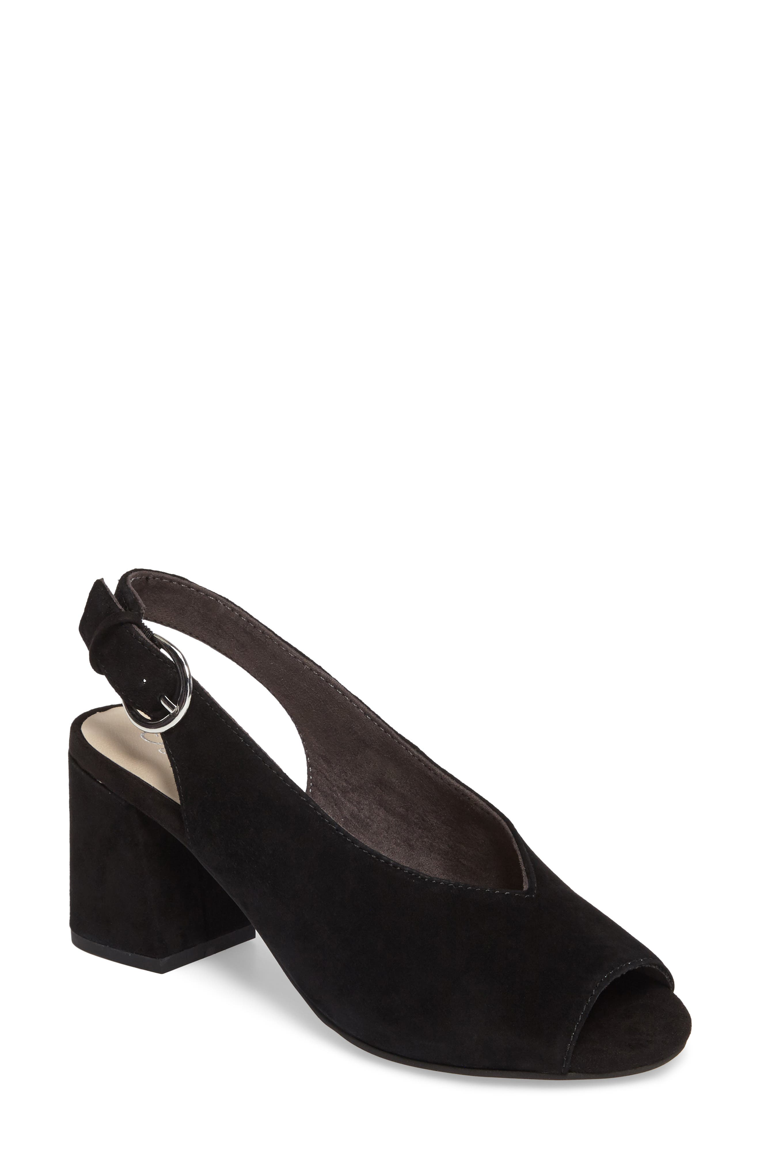 SEYCHELLES Playwright Slingback Sandal, Main, color, 001