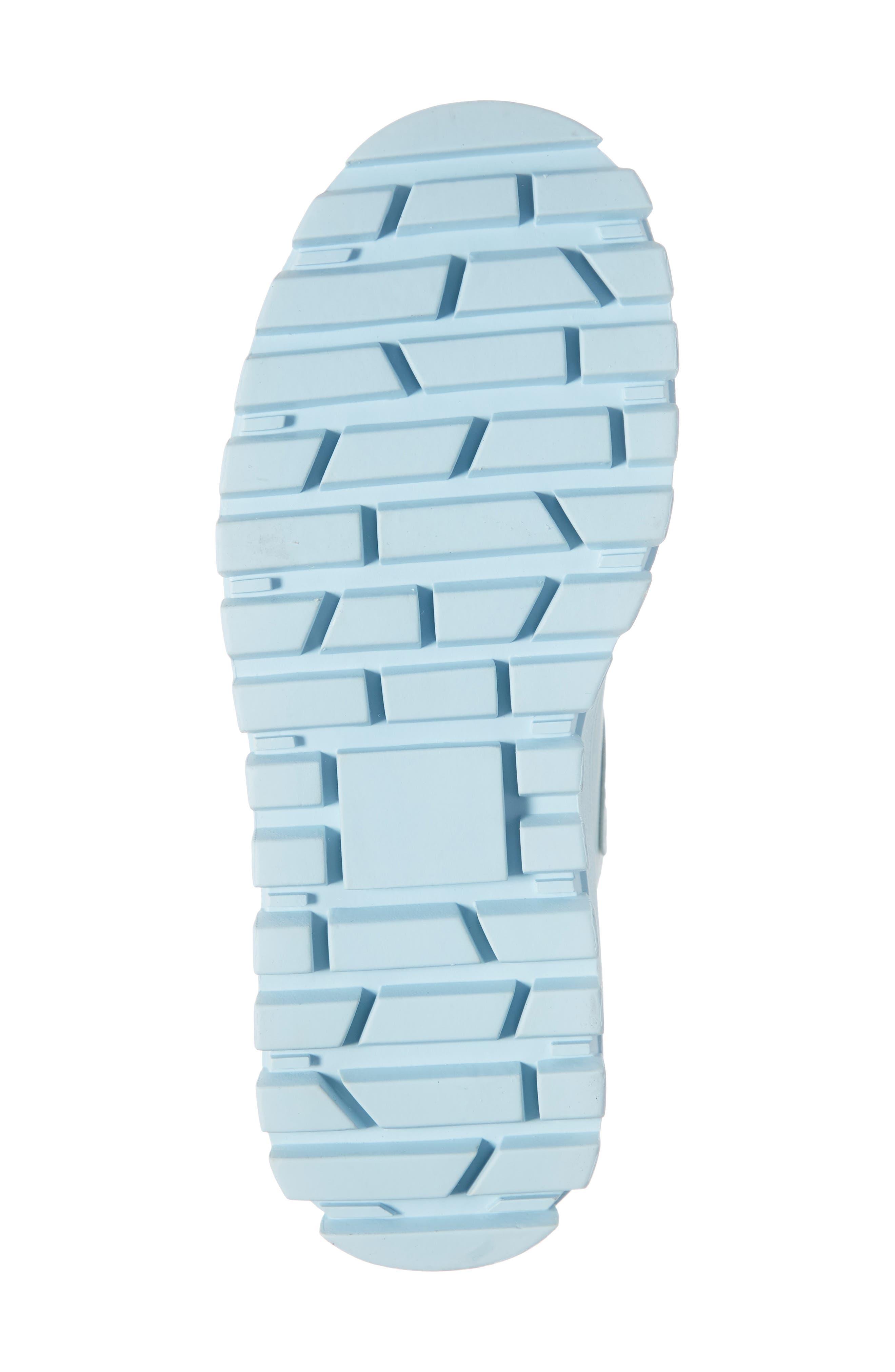 JEFFREY CAMPBELL, Top Peak 2 Platform Sneaker, Alternate thumbnail 6, color, BLUE FAUX LEATHER