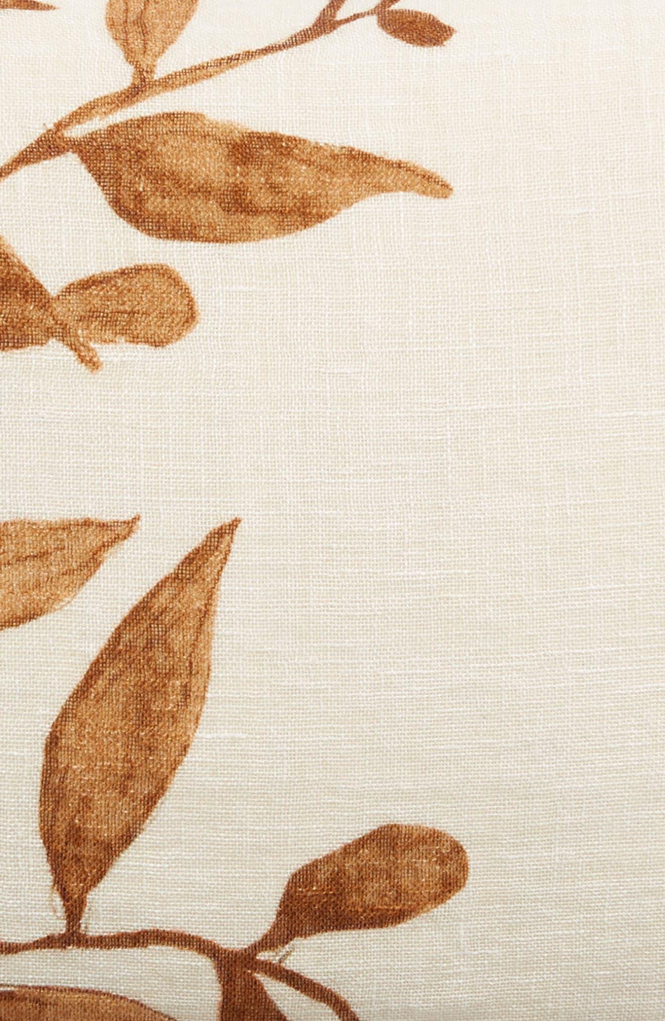 TREASURE & BOND, Vine Accent Pillow, Alternate thumbnail 3, color, BROWN RUSTIC MULTI