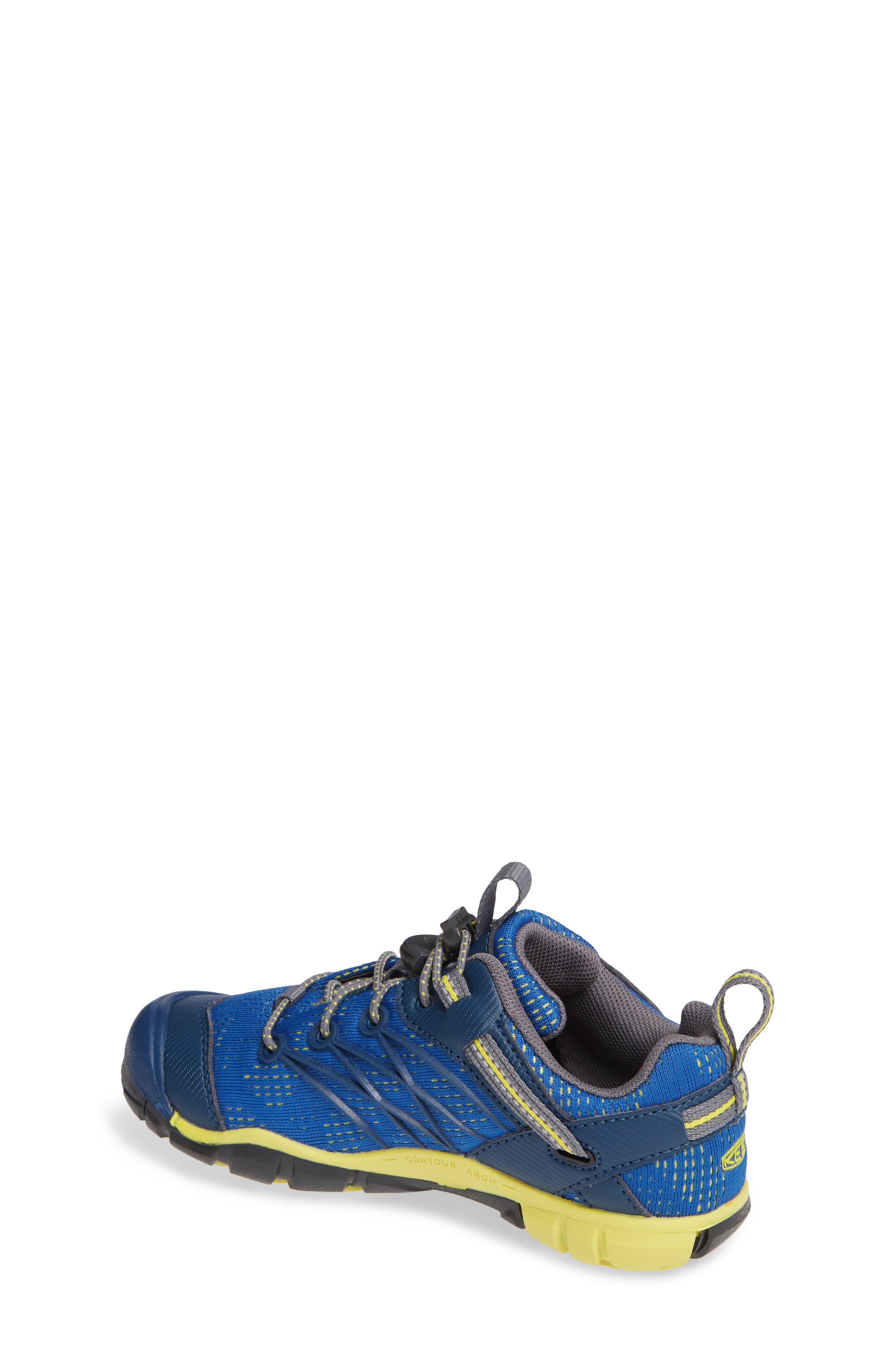 KEEN, 'Chandler CNX' Water Friendly Sneaker, Alternate thumbnail 2, color, BLUE OPAL/ BLUE
