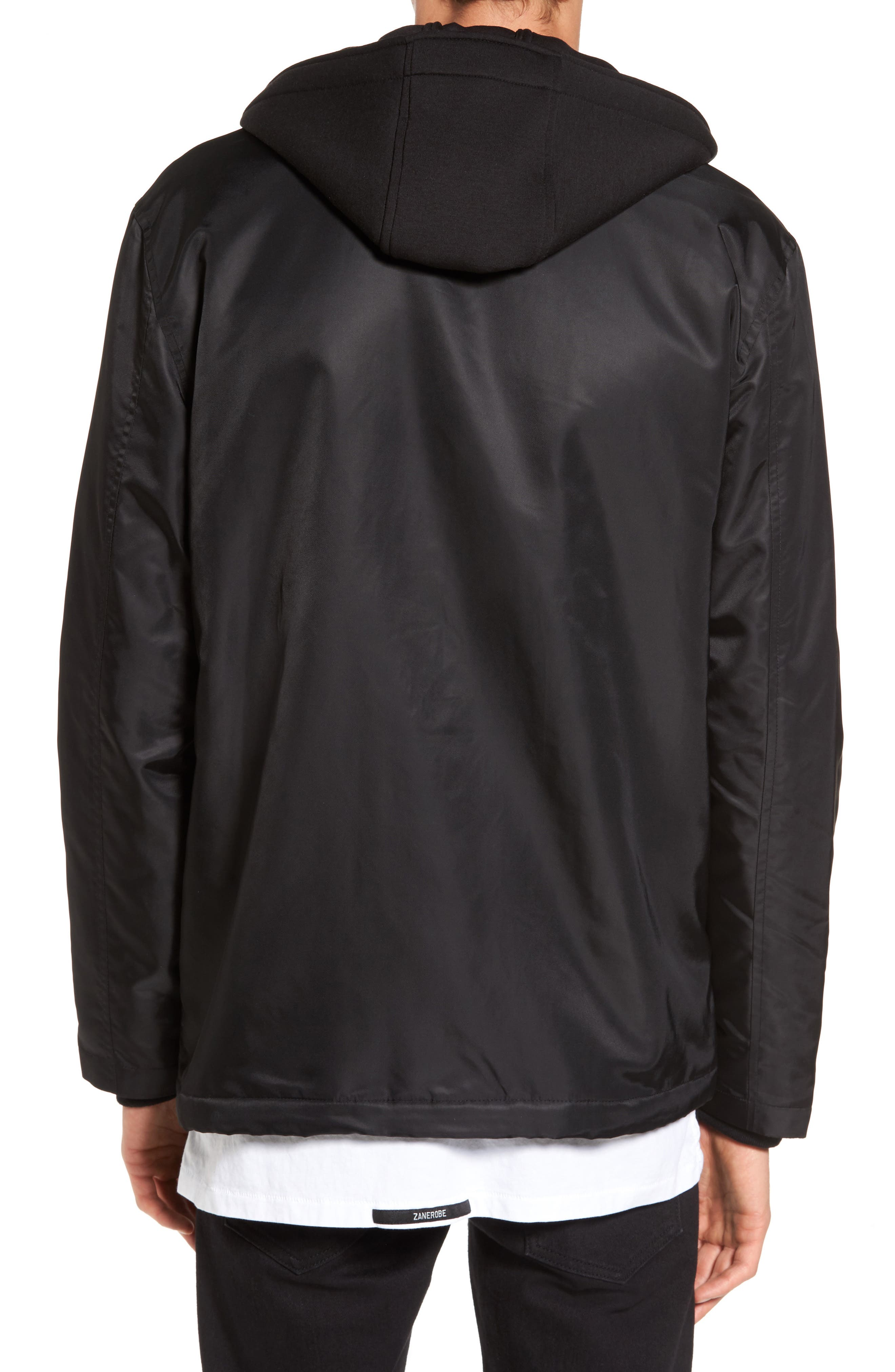 THE VERY WARM, Yorkshire Hooded Coach's Jacket, Alternate thumbnail 2, color, 001