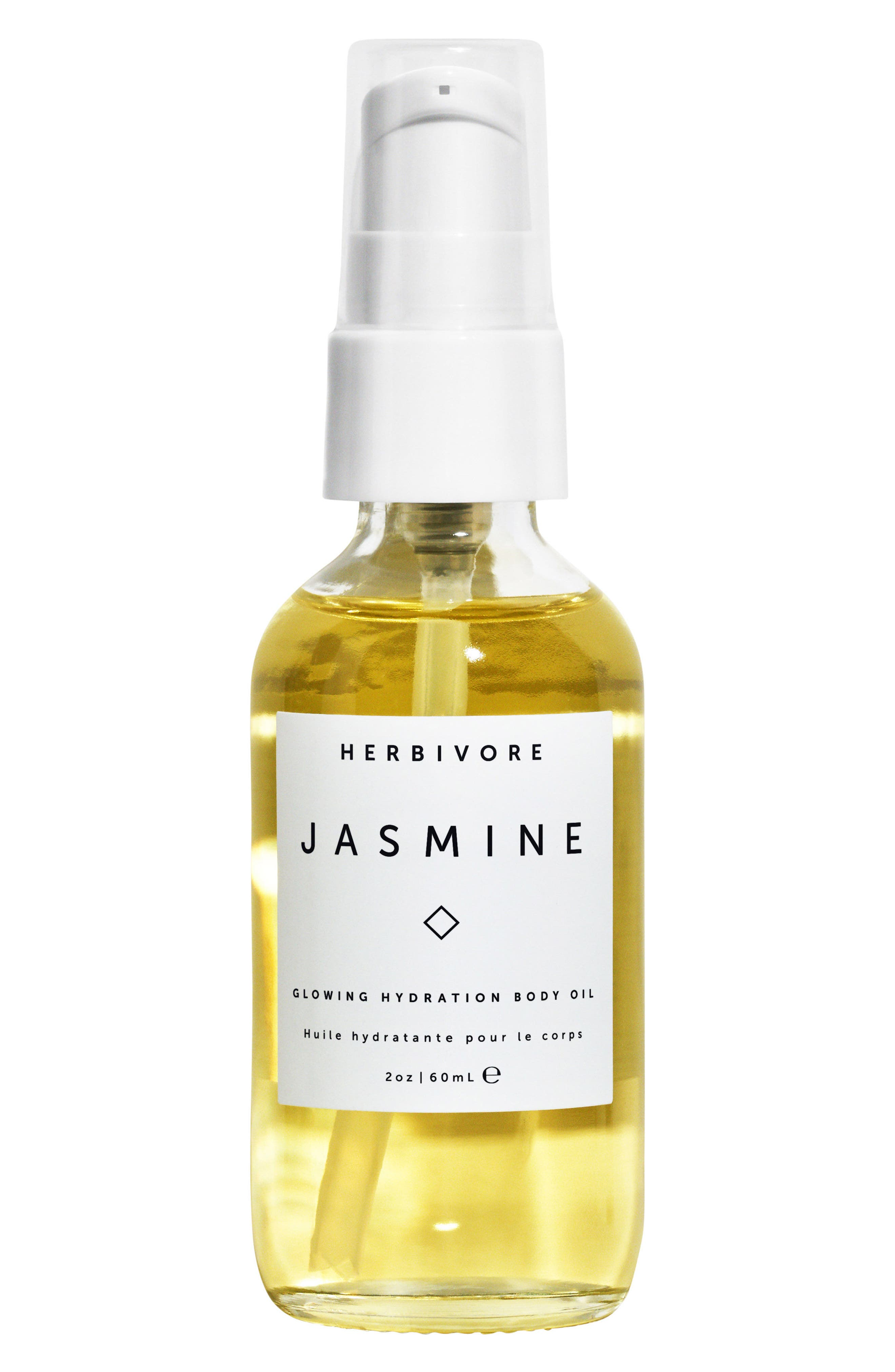 HERBIVORE BOTANICALS, Jasmine Body Oil, Main thumbnail 1, color, NO COLOR