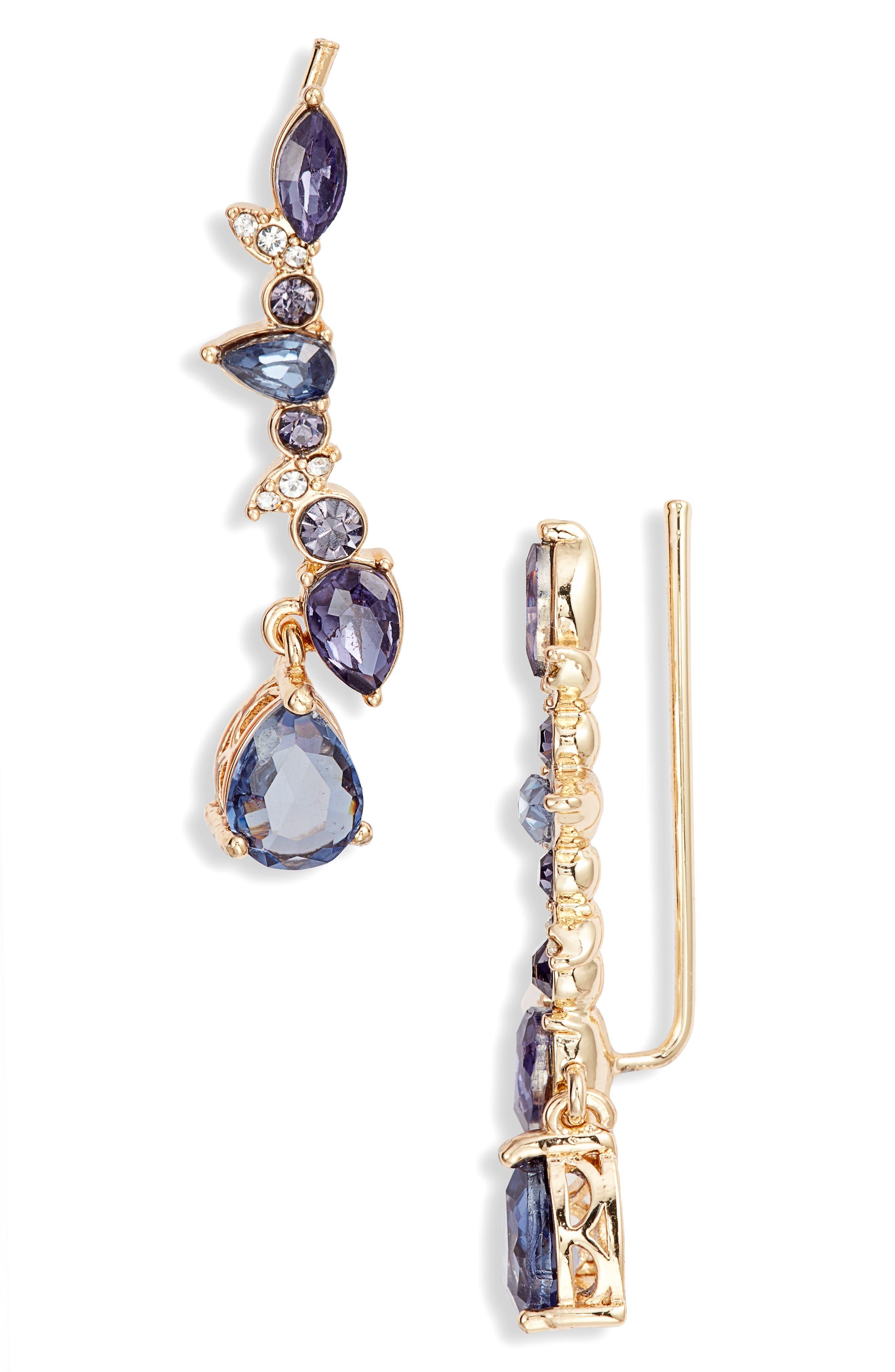 JENNY PACKHAM, Stone Crawler Earrings, Main thumbnail 1, color, 500