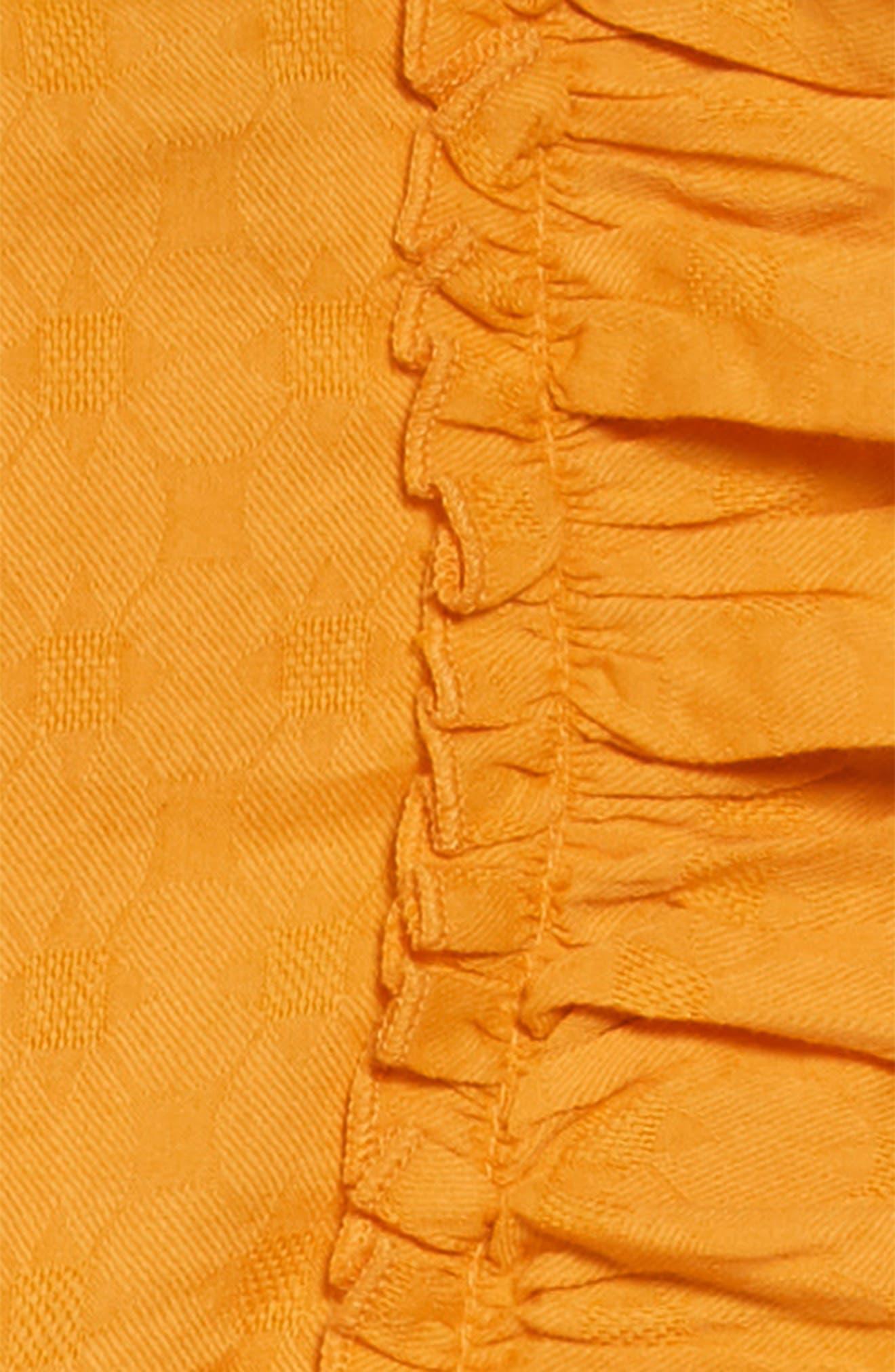 PEEK AREN'T YOU CURIOUS, Angelica Ruffle Dress, Alternate thumbnail 3, color, 700