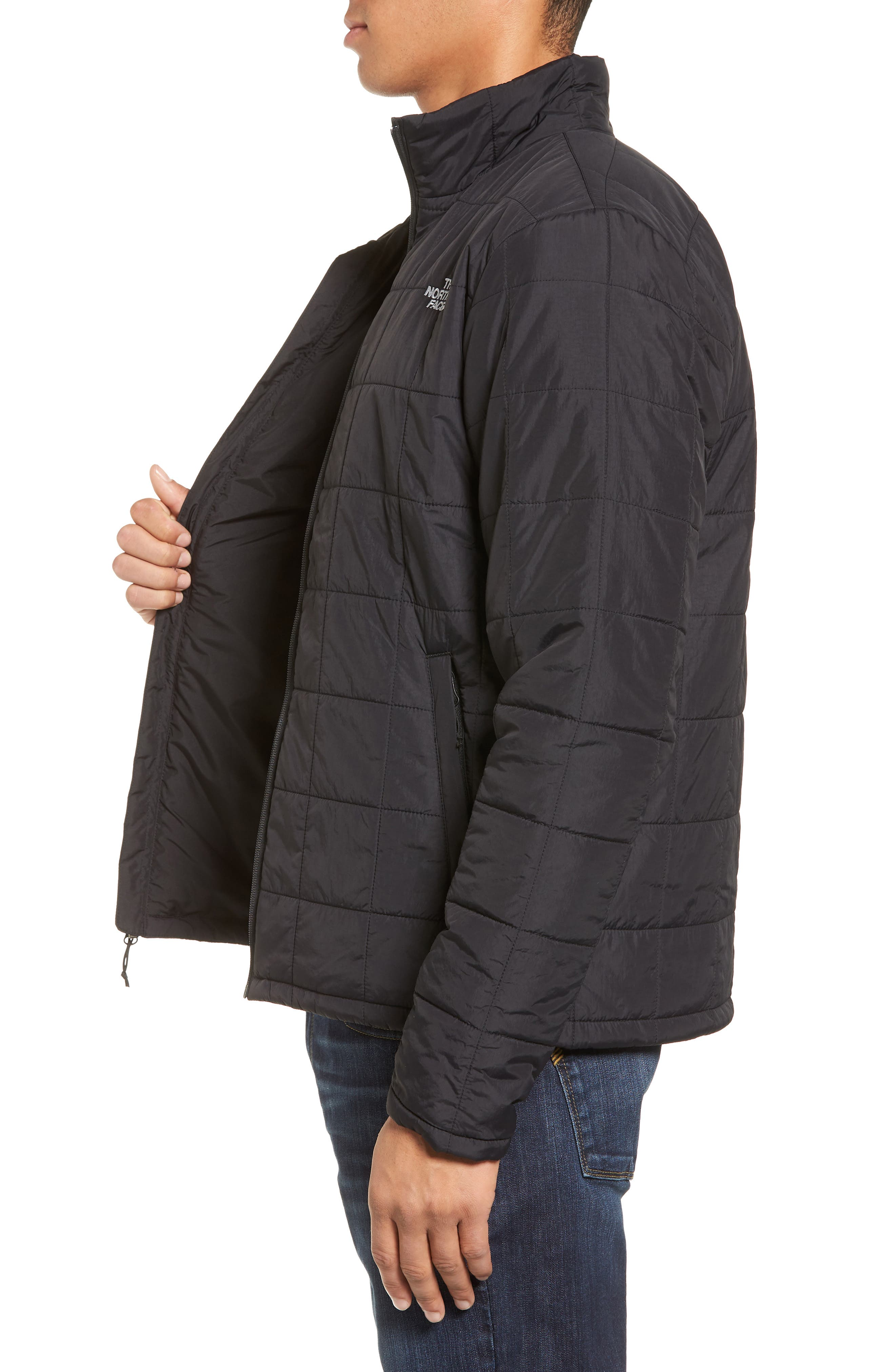 THE NORTH FACE, Harway Heatseaker<sup>™</sup> Jacket, Alternate thumbnail 4, color, 001