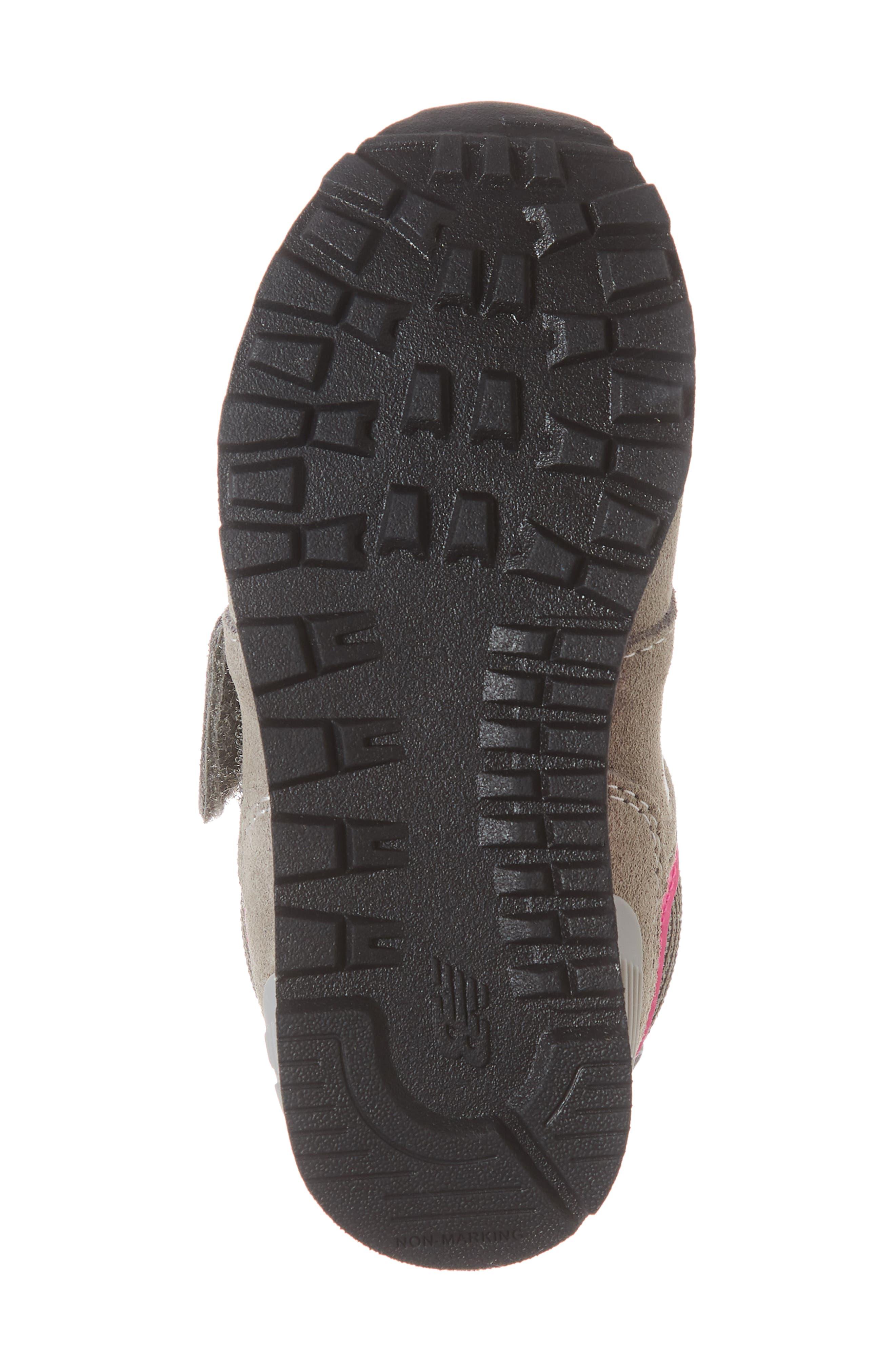 NEW BALANCE, '574 Core' Sneaker, Alternate thumbnail 6, color, GREY/ PINK