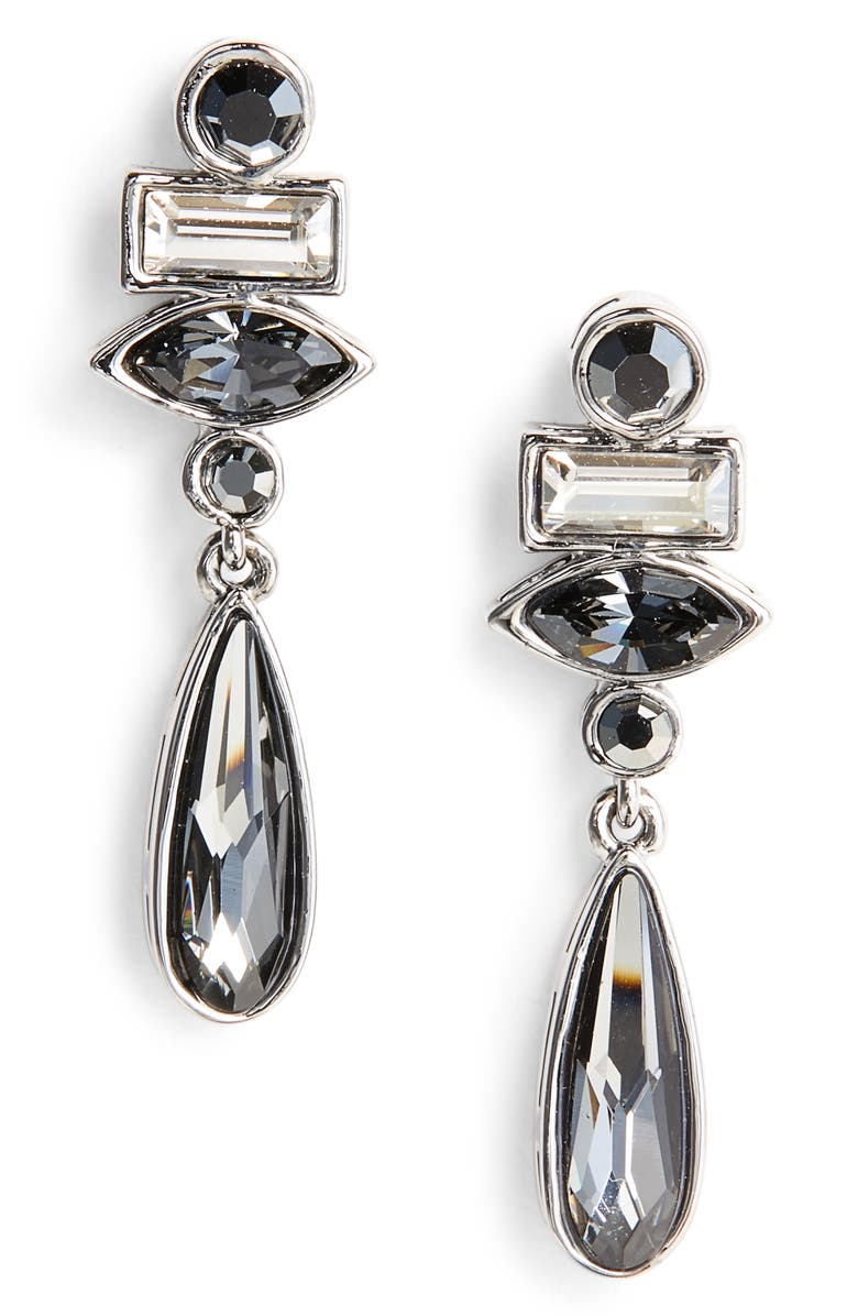 0e5cc193b ST. JOHN COLLECTION Swarovski Crystal Drop Earrings, Main, color, 040