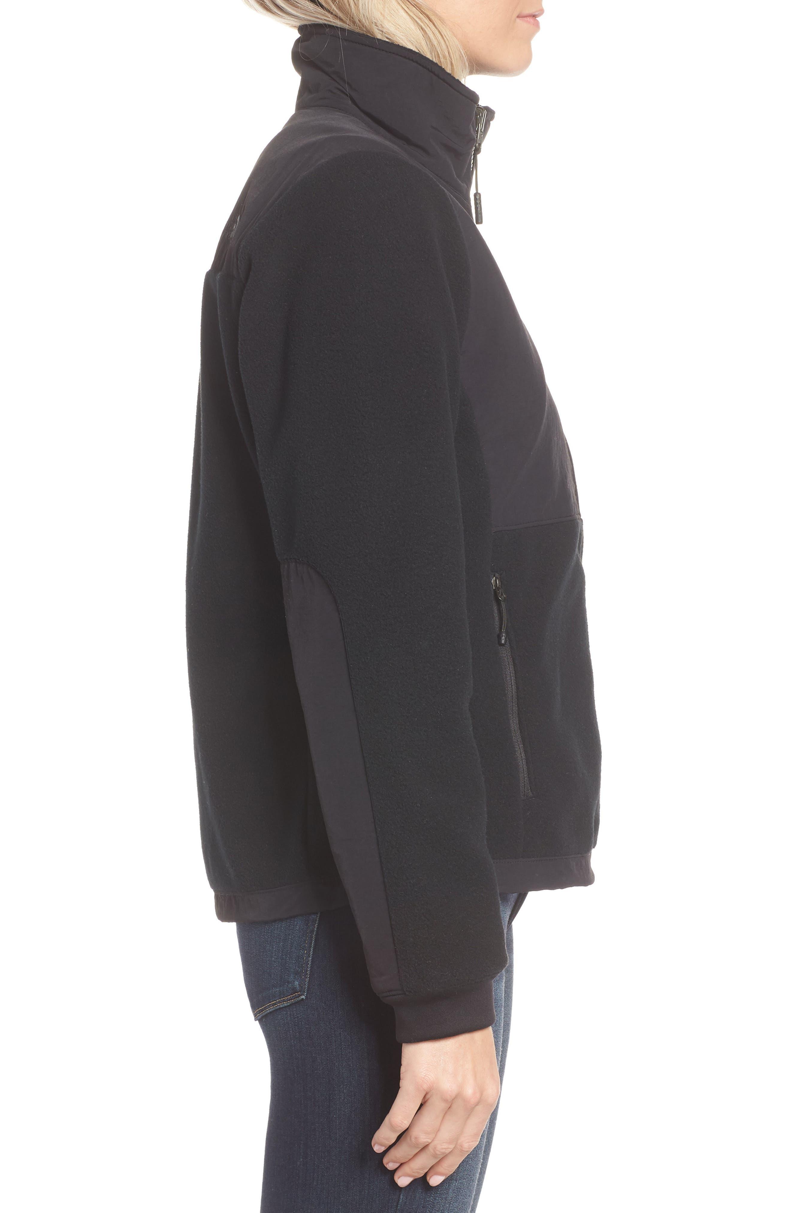 THE NORTH FACE, Denali 2 Jacket, Alternate thumbnail 4, color, TNF BLACK