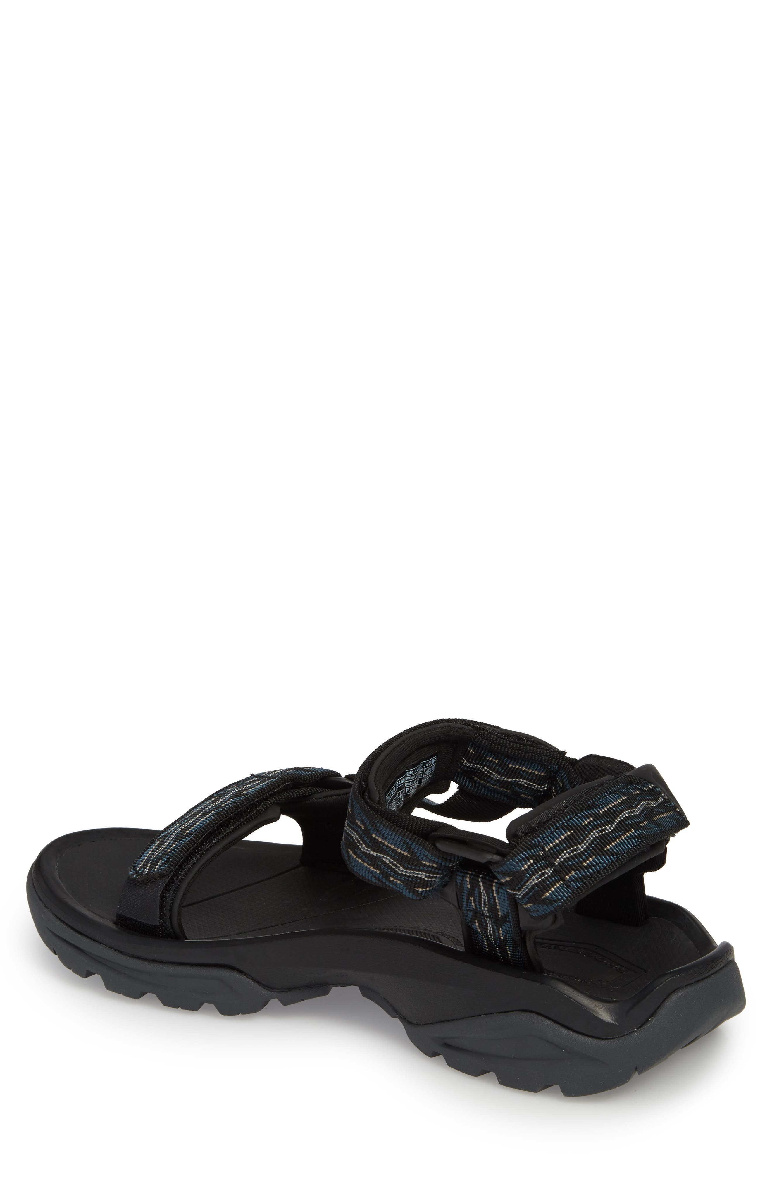 TEVA, Terra Fi 4 Sport Sandal, Alternate thumbnail 2, color, MIDNIGHT BLUE NYLON