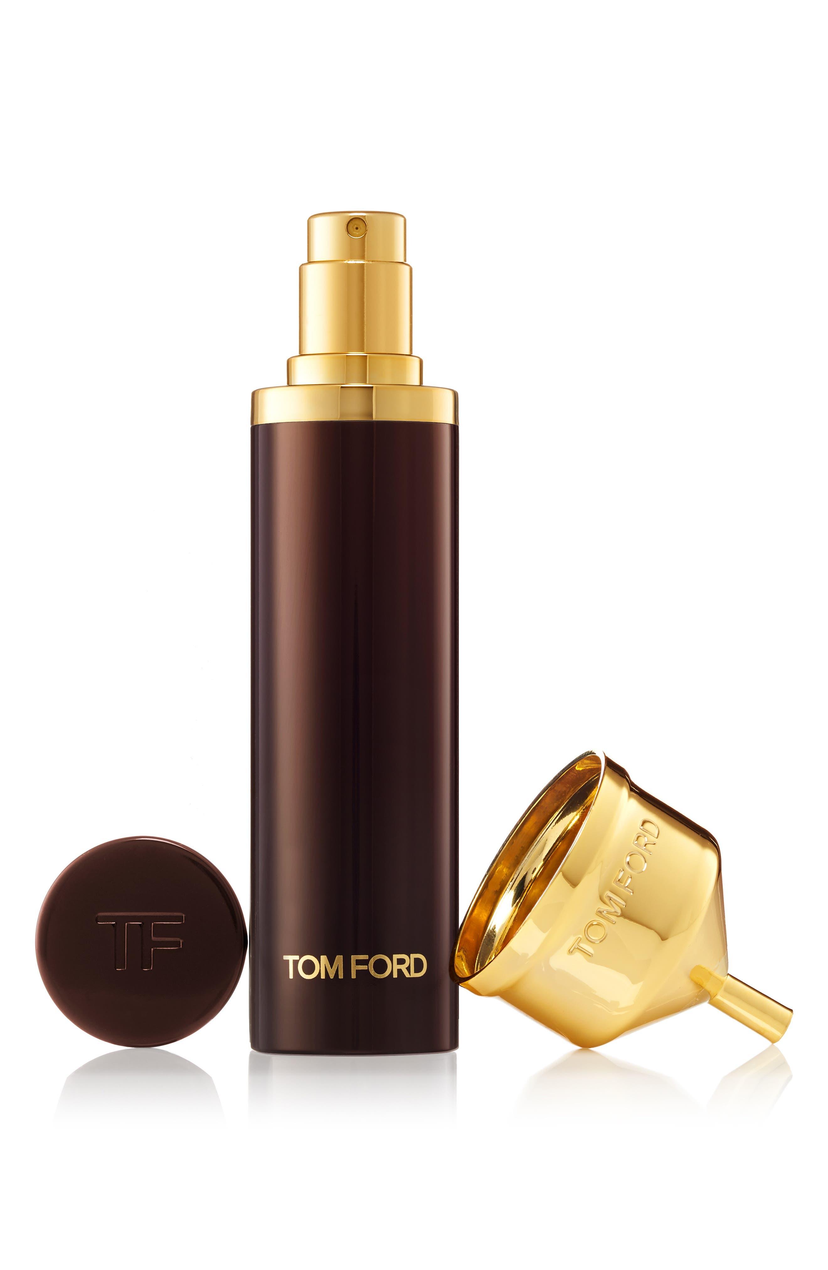 TOM FORD, Private Blend Tobacco Vanille Eau de Parfum Decanter, Alternate thumbnail 5, color, NO COLOR