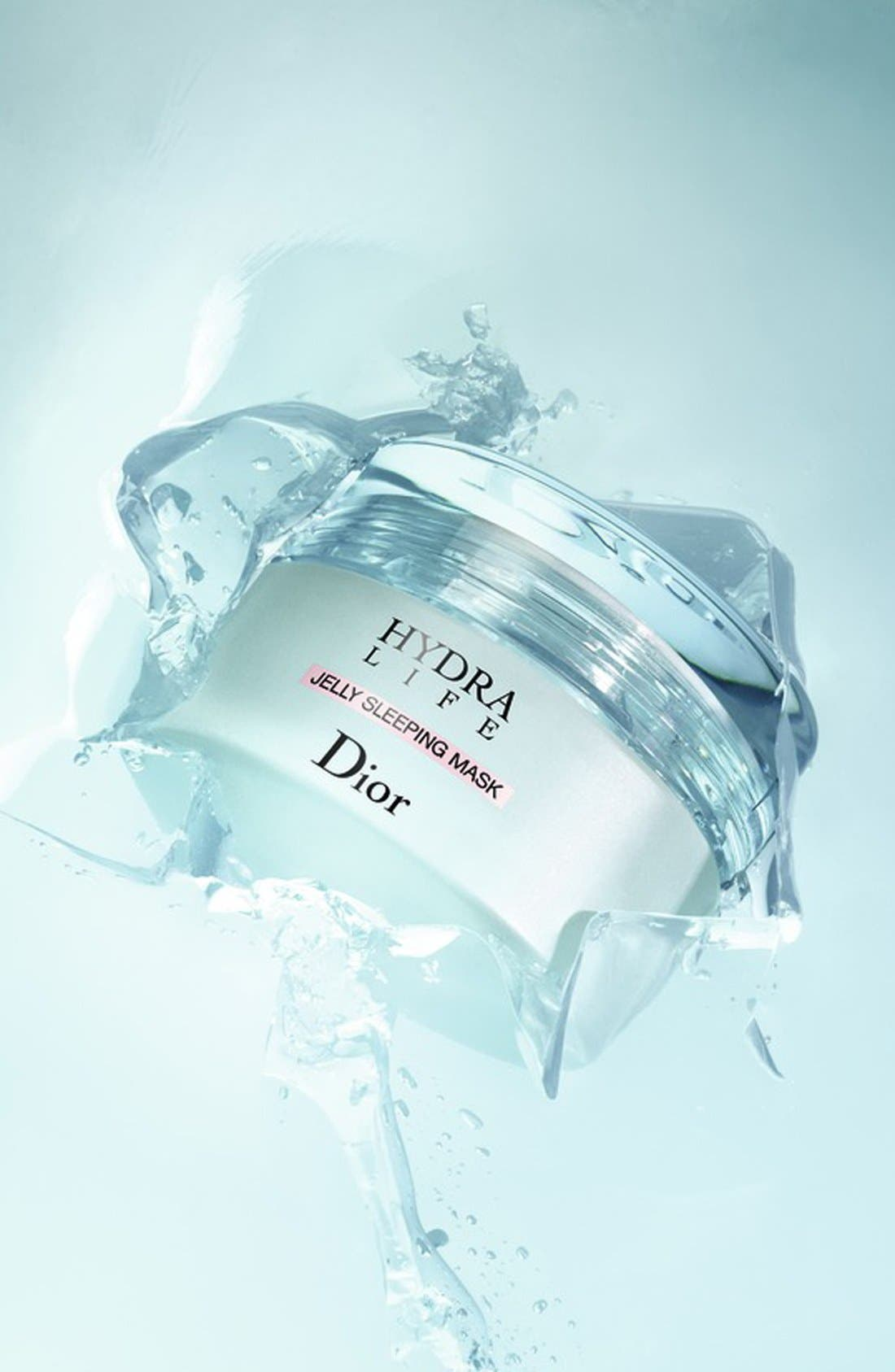 DIOR, Hydra Life Jelly Sleeping Mask, Alternate thumbnail 4, color, NO COLOR