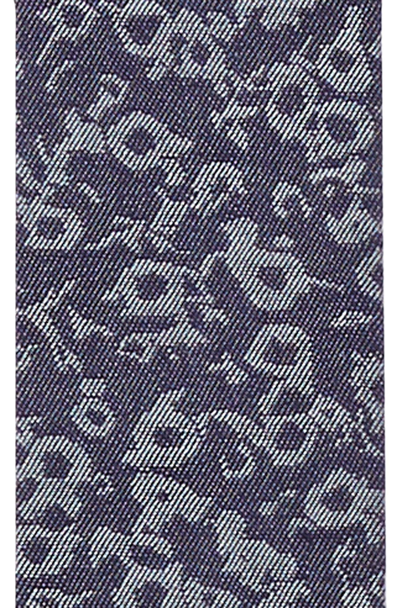 NORDSTROM MEN'S SHOP, Floral Denim Suspenders, Alternate thumbnail 2, color, 420