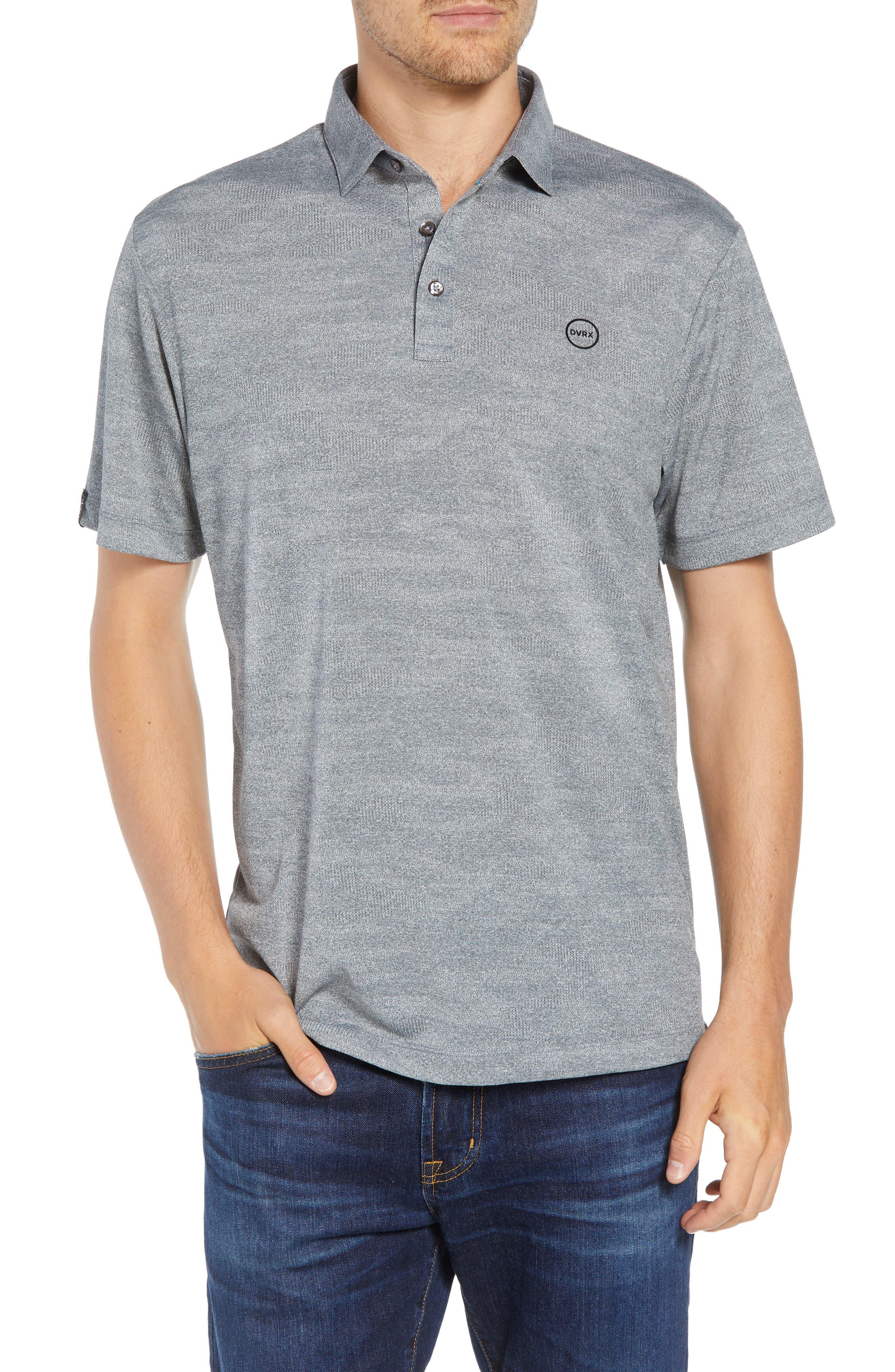 DEVEREUX Monaco Regular Fit Polo, Main, color, STEEL