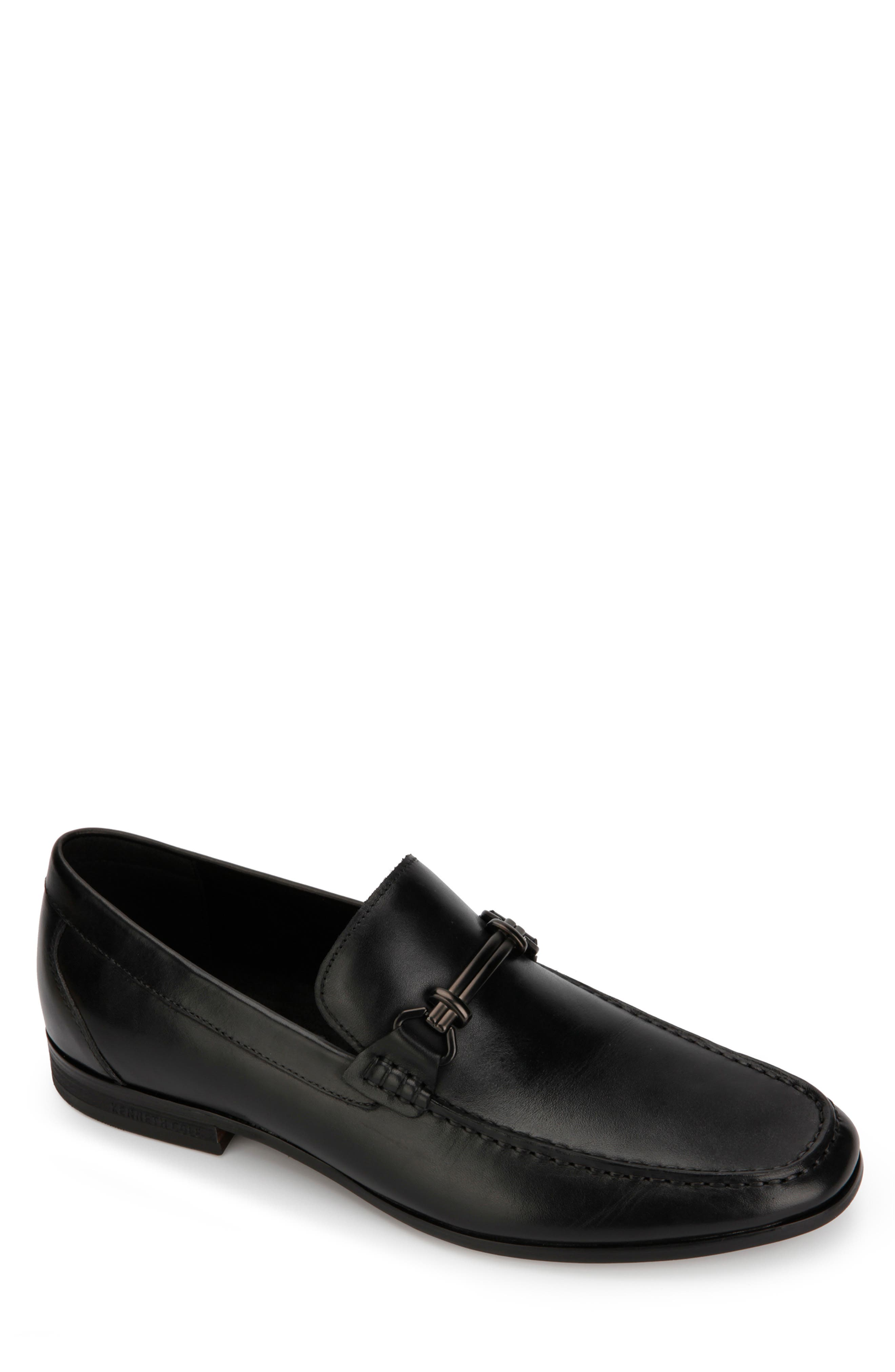 KENNETH COLE NEW YORK, Arlie Bit Loafer, Main thumbnail 1, color, 001