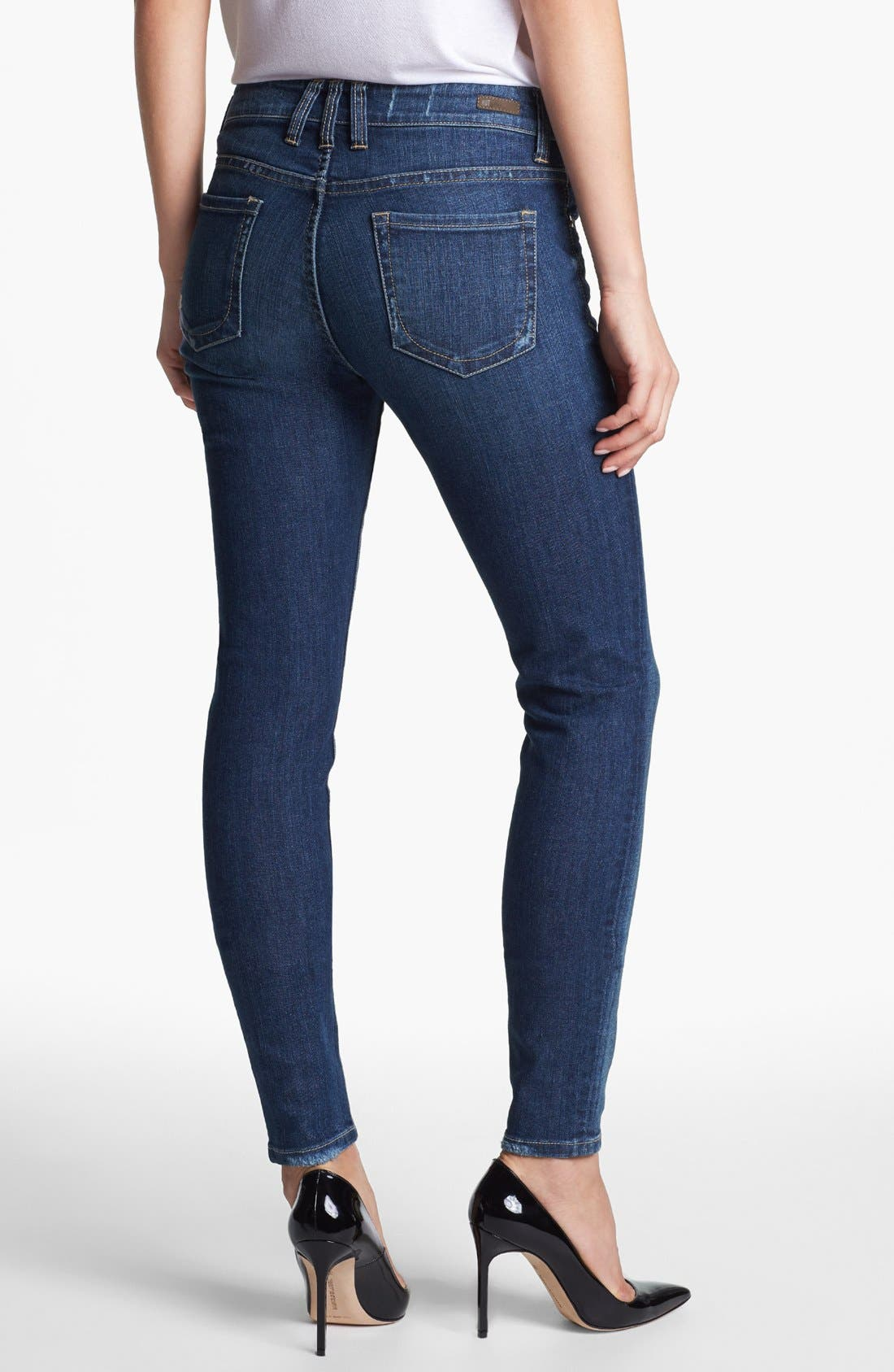 KUT FROM THE KLOTH, 'Mia' Skinny Jeans, Alternate thumbnail 4, color, 433