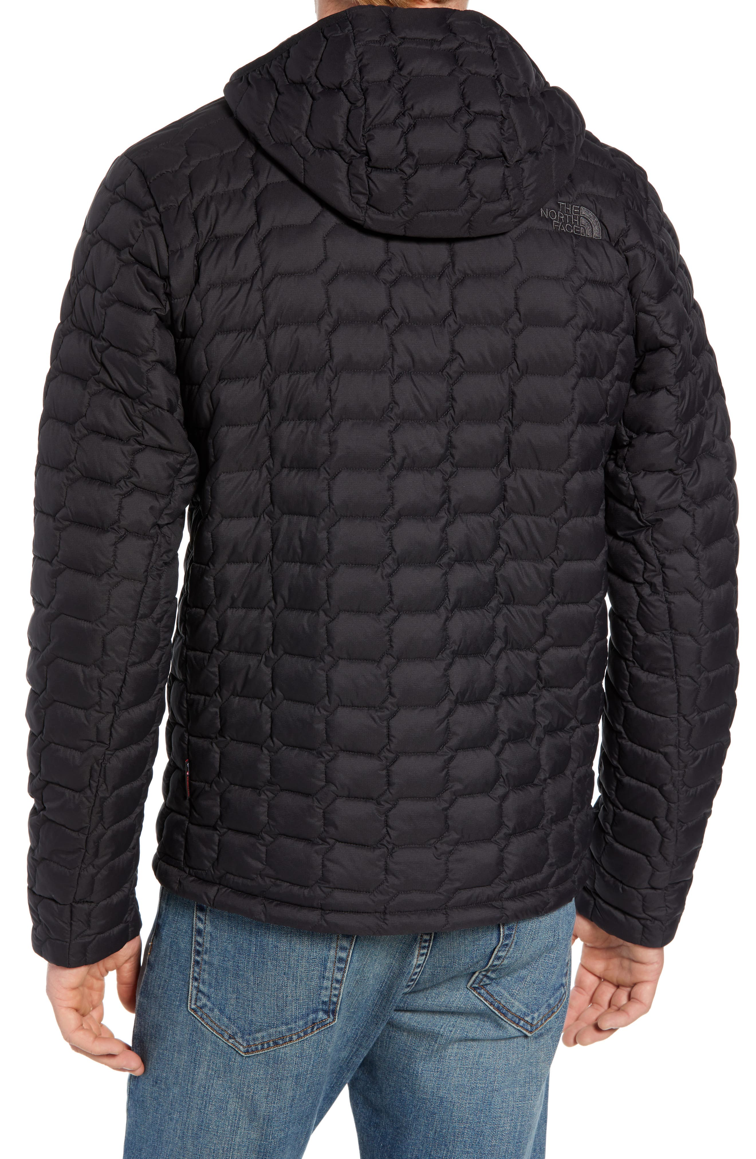 THE NORTH FACE, ThermoBall<sup>™</sup> Zip Hoodie, Alternate thumbnail 2, color, 001