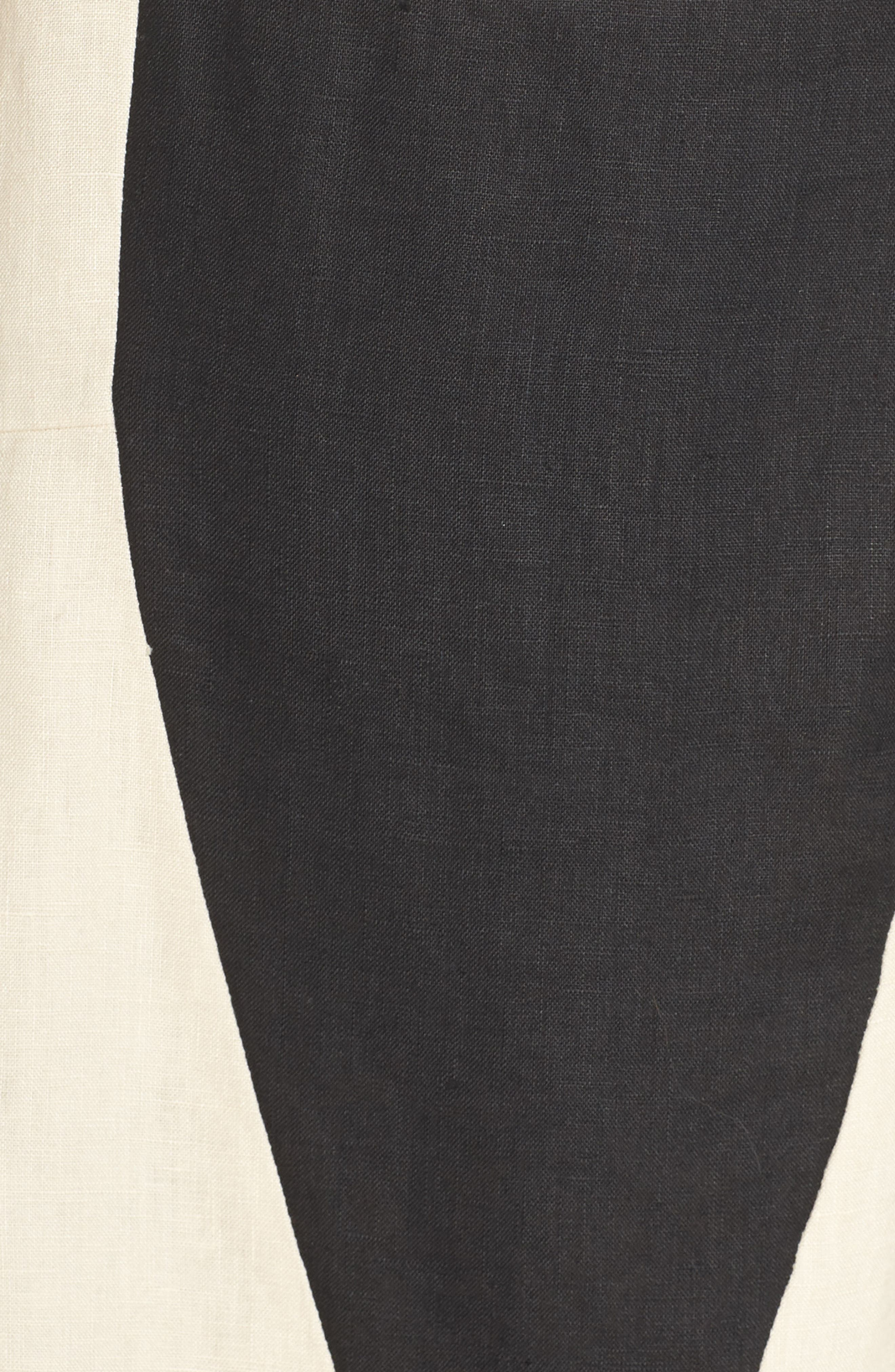CAARA, Betha Colorblock Tie Back Dress, Alternate thumbnail 6, color, 001