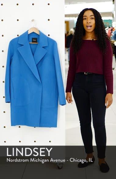 Wool & Cashmere Boy Coat, sales video thumbnail