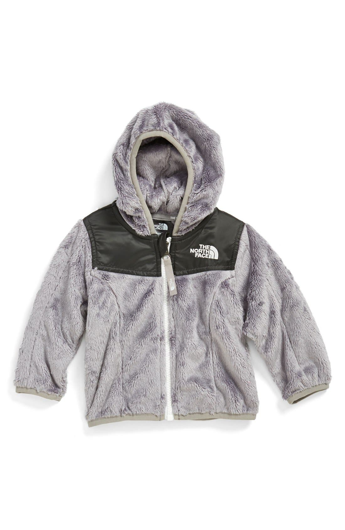 THE NORTH FACE, 'Oso' Fleece Hoodie, Main thumbnail 1, color, 020
