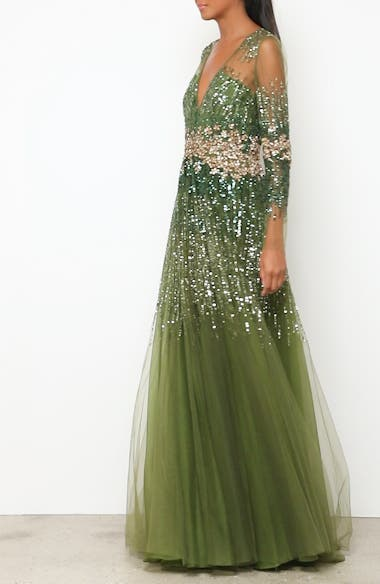 Crystal Embellished A-Line Gown, video thumbnail