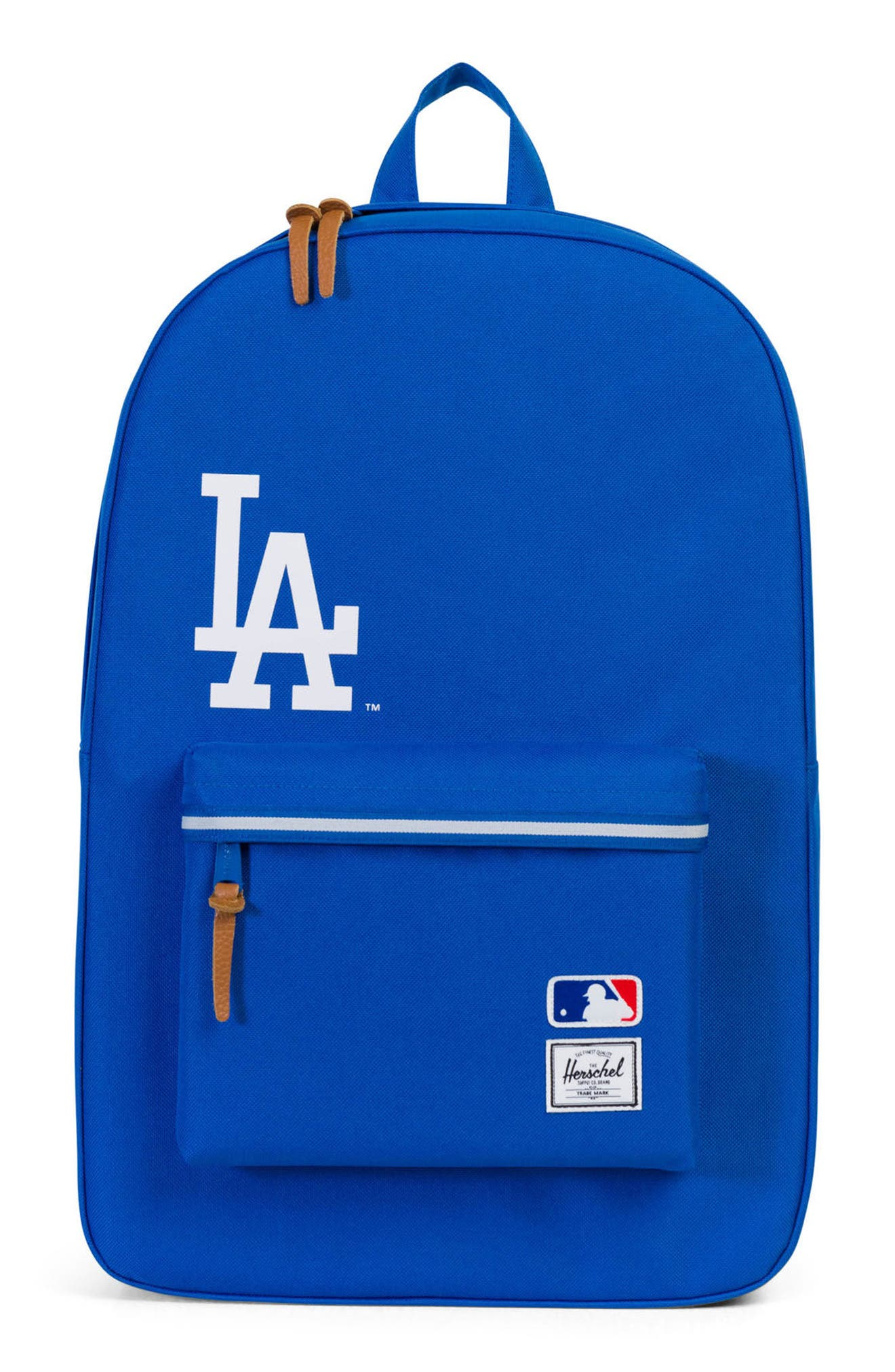 HERSCHEL SUPPLY CO., Heritage MLB Backpack, Main thumbnail 1, color, LOS ANGELES DODGERS