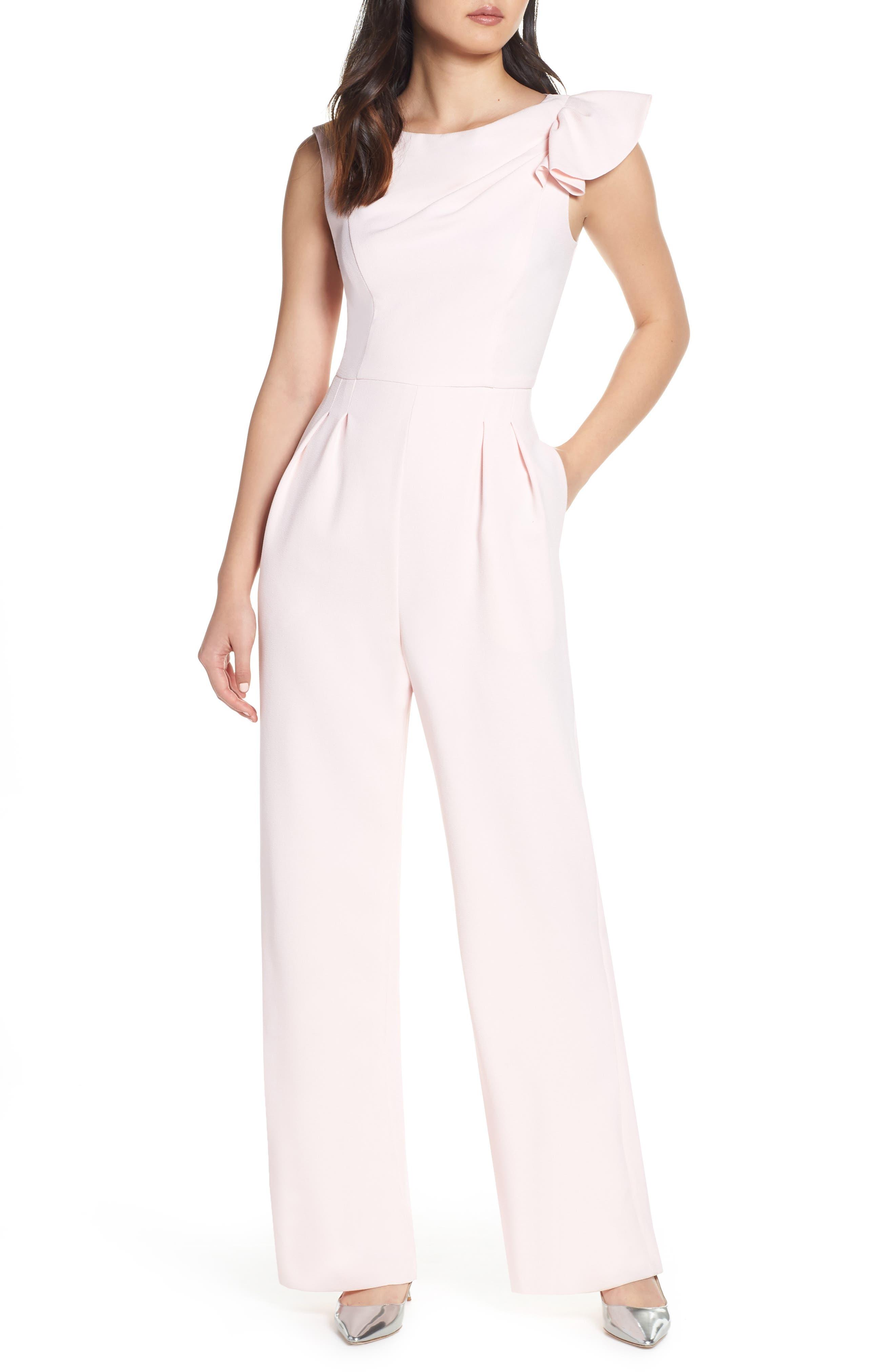 HARPER ROSE Asymmetrical Jumpsuit, Main, color, BLUSH