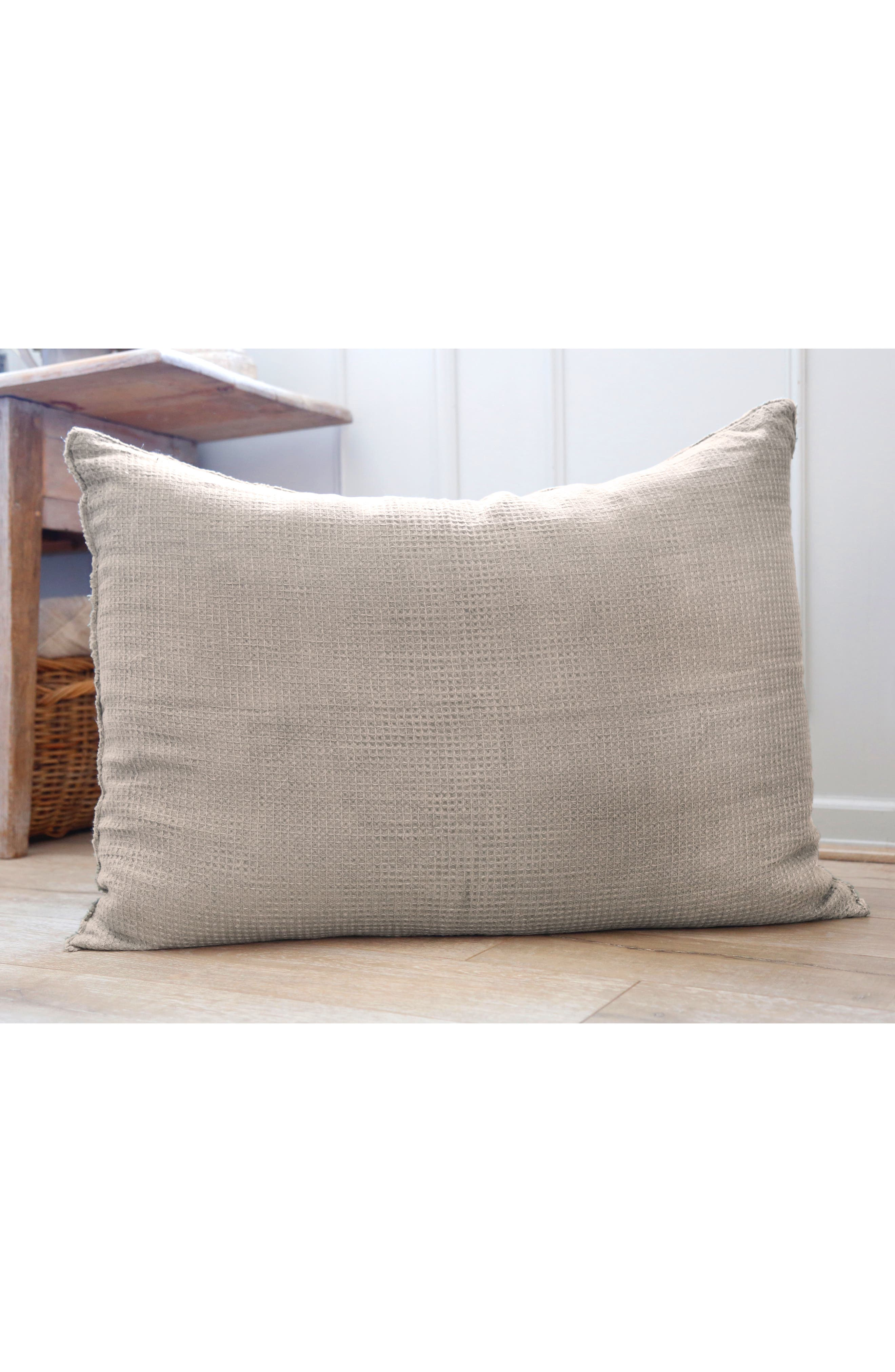 POM POM AT HOME, Venice Accent Pillow, Alternate thumbnail 2, color, MOSS