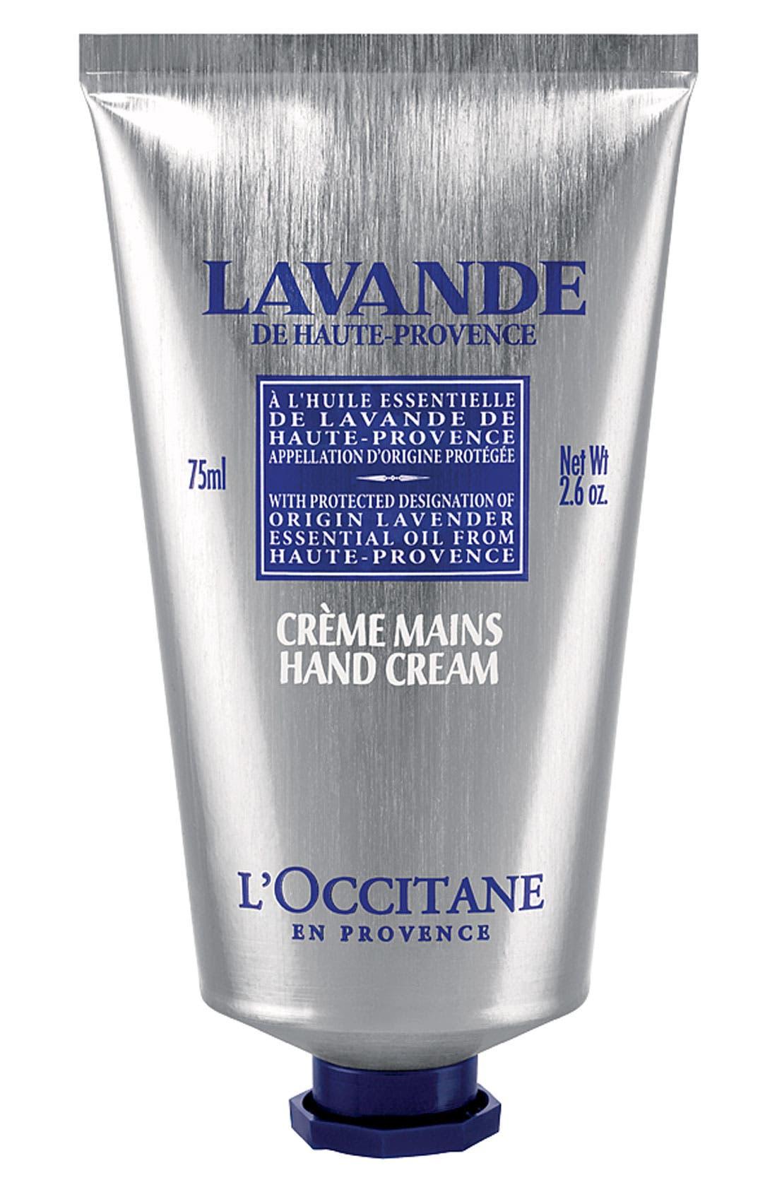 L'OCCITANE, Lavender Hand Cream, Alternate thumbnail 2, color, NO_COLOR