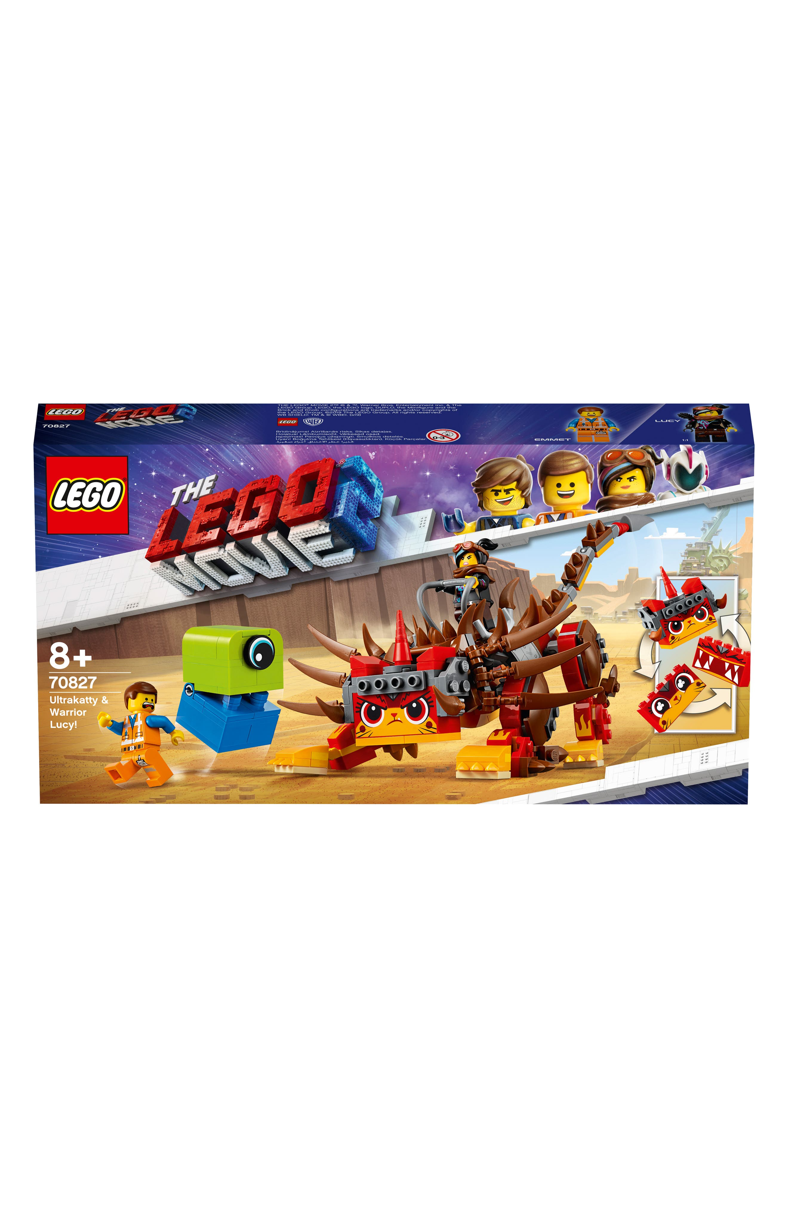 LEGO<SUP>®</SUP>, The LEGO<sup>®</sup> Movie 2 UItrakatty & Warrior Lucy Play Set - 70827, Alternate thumbnail 3, color, 960