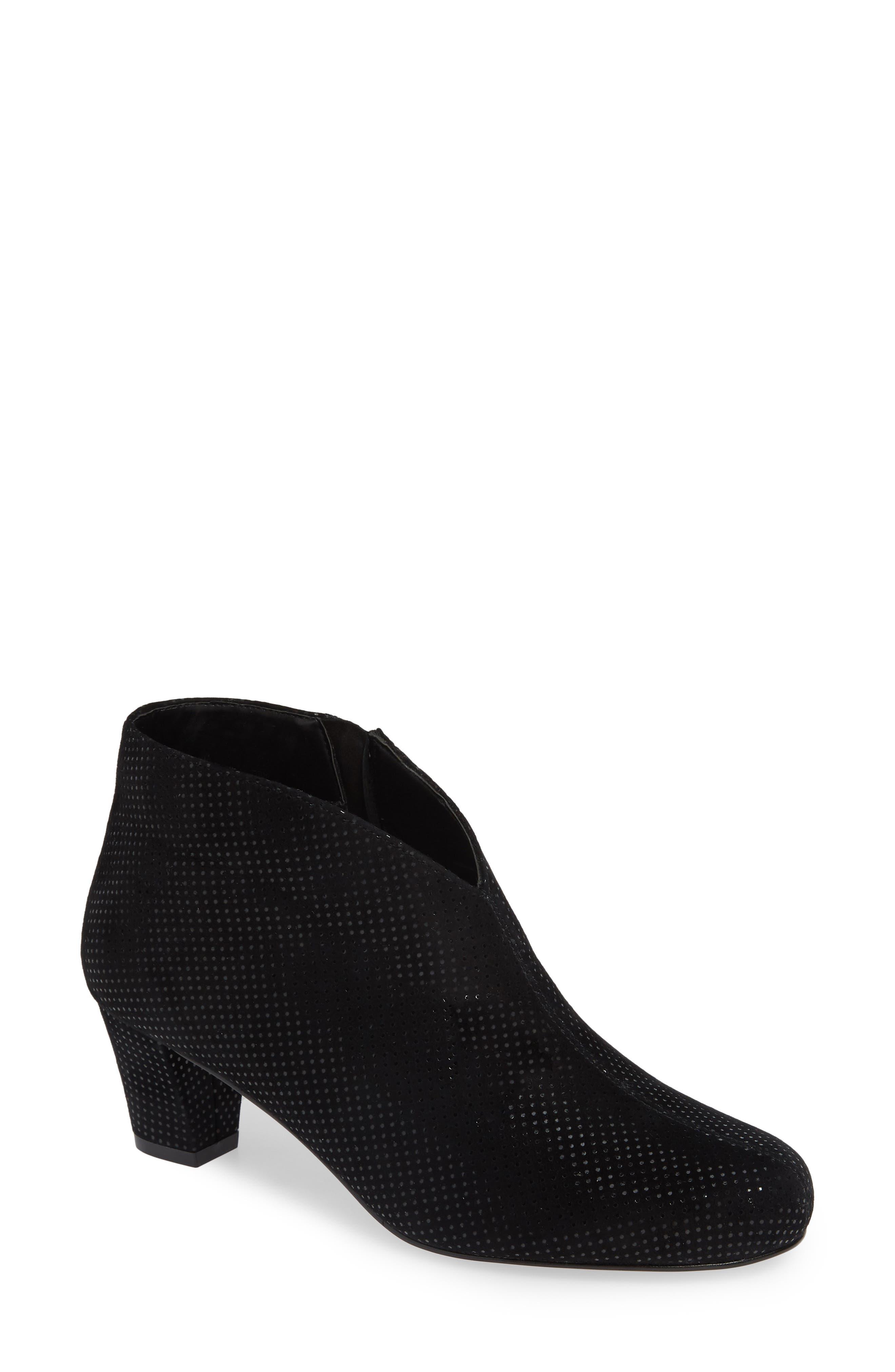 DAVID TATE Fame Boot, Main, color, BLACK SUEDE