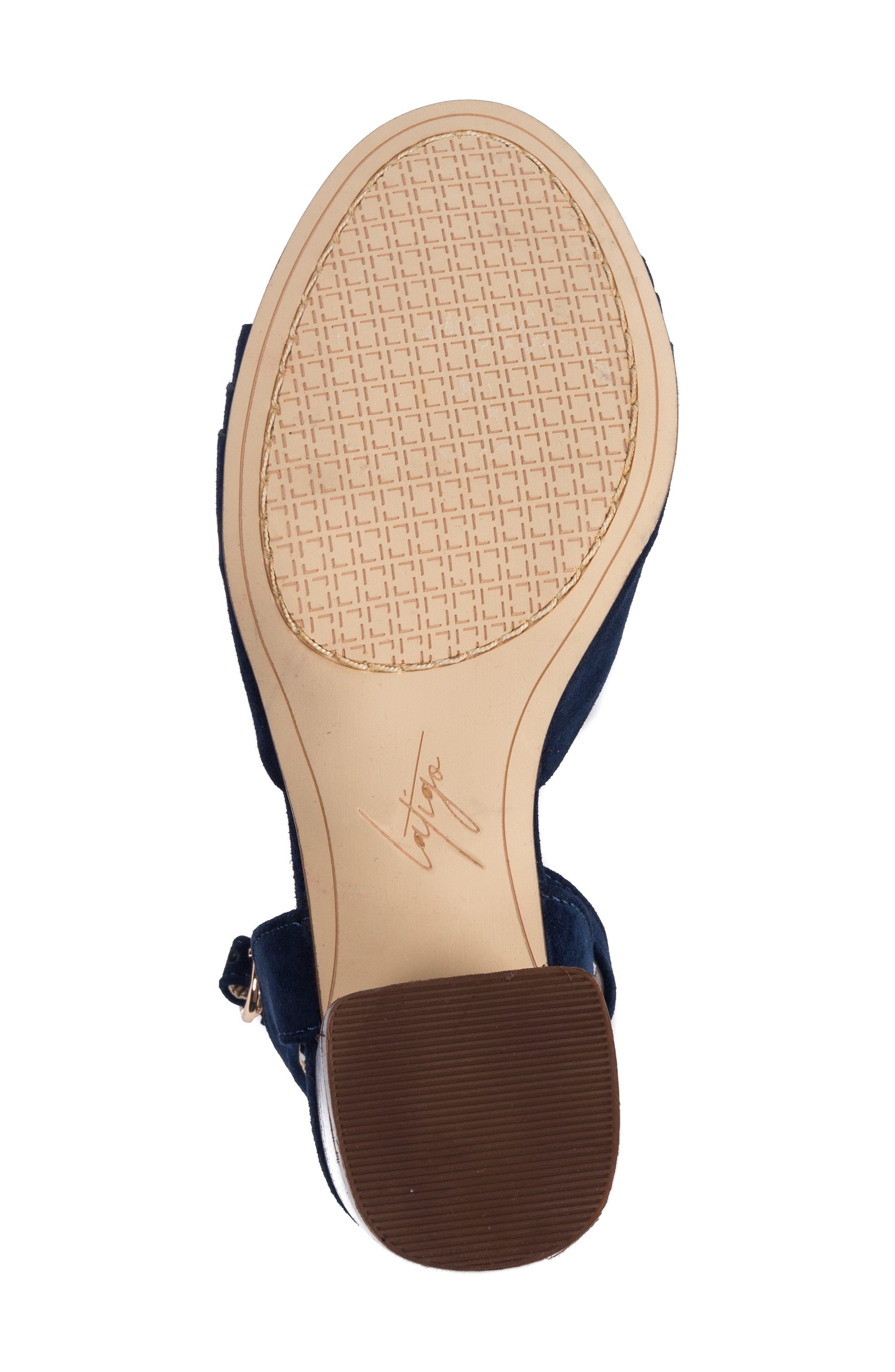 LATIGO, Idelle Ankle Strap Sandal, Alternate thumbnail 6, color, 410