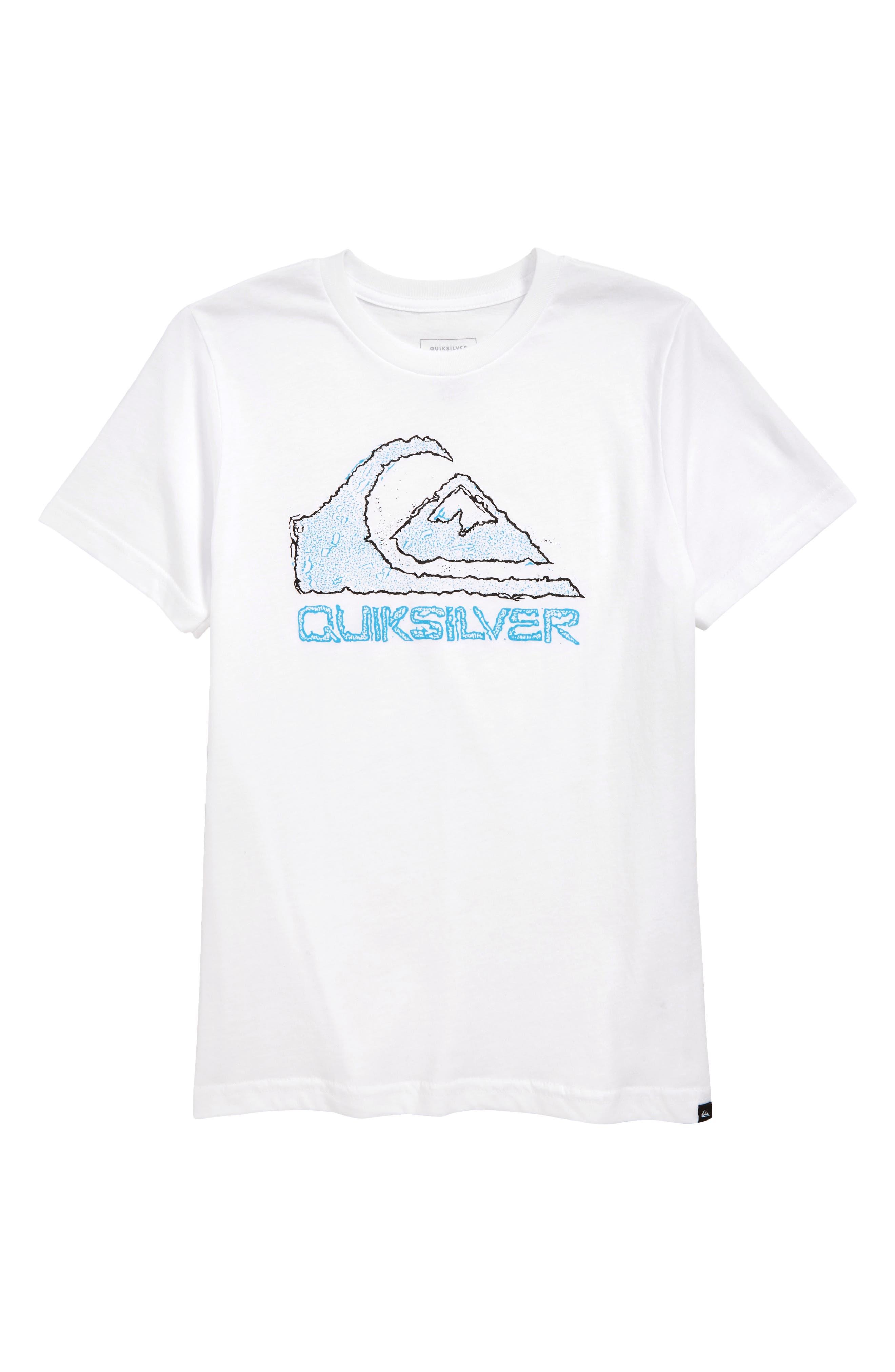 QUIKSILVER, Turbo Boost T-Shirt, Main thumbnail 1, color, WHITE