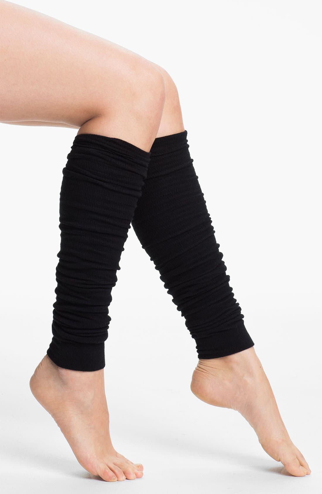 UNIT-Y, 'Fancy Feet' Leg Warmers, Main thumbnail 1, color, 001