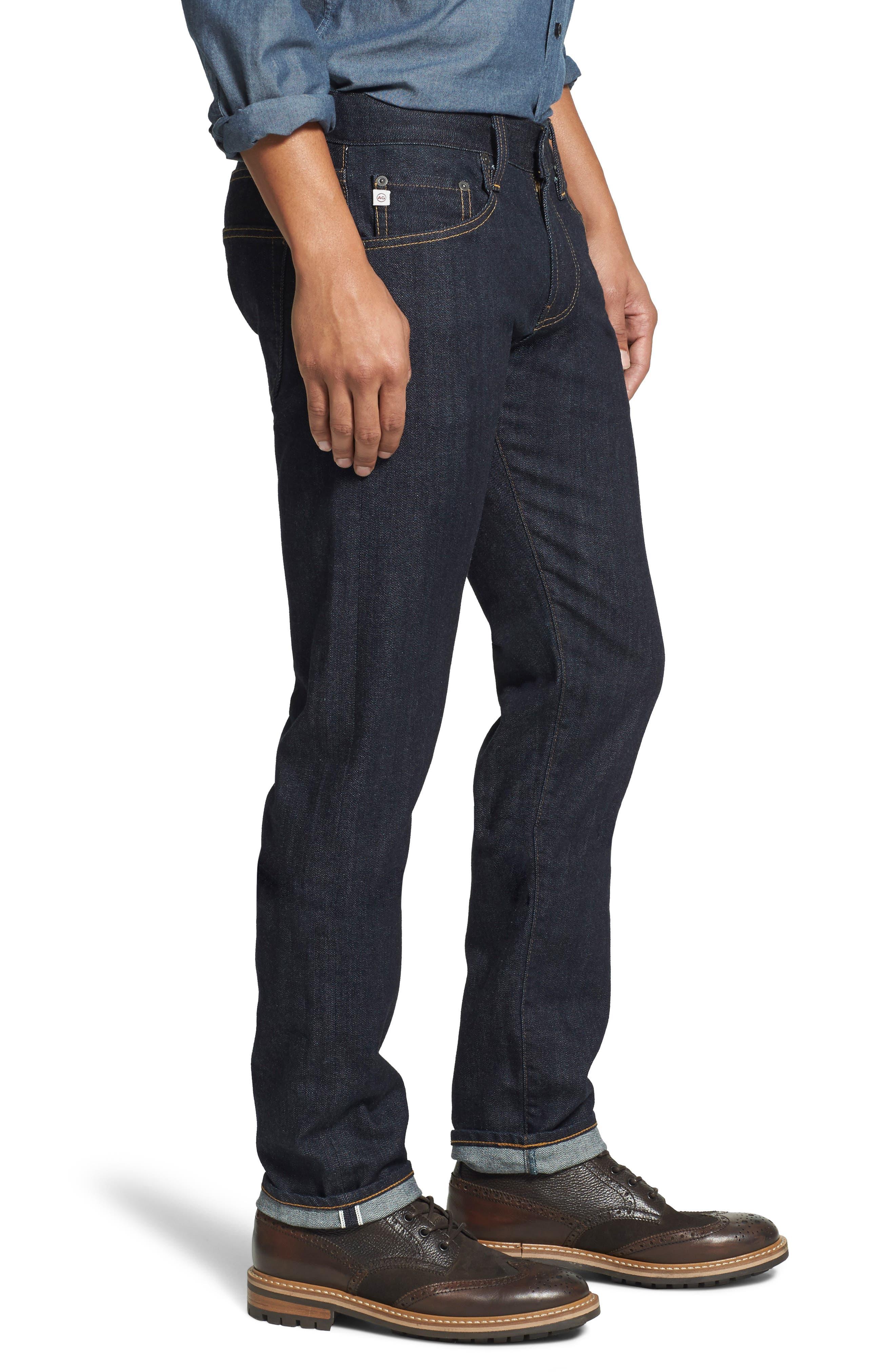 AG, Tellis Slim Fit Jeans, Alternate thumbnail 4, color, ALPHA