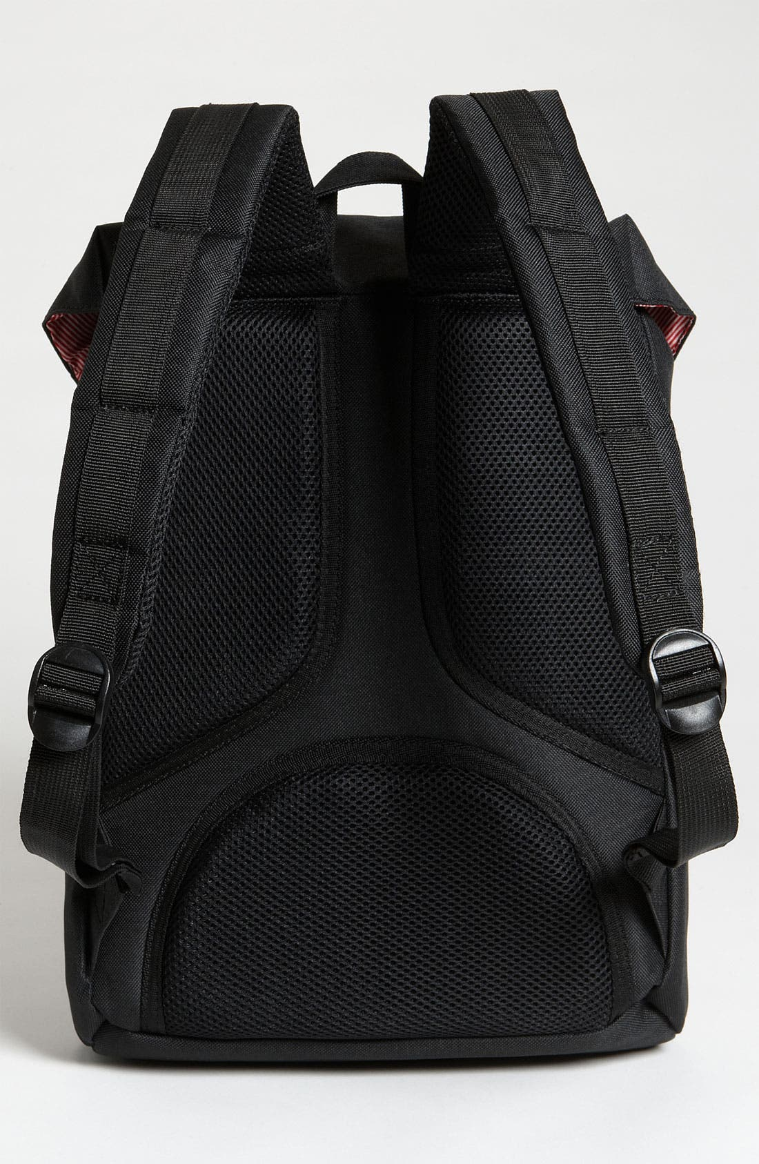 HERSCHEL SUPPLY CO., Little America - Mid Volume Backpack, Alternate thumbnail 6, color, BLACK