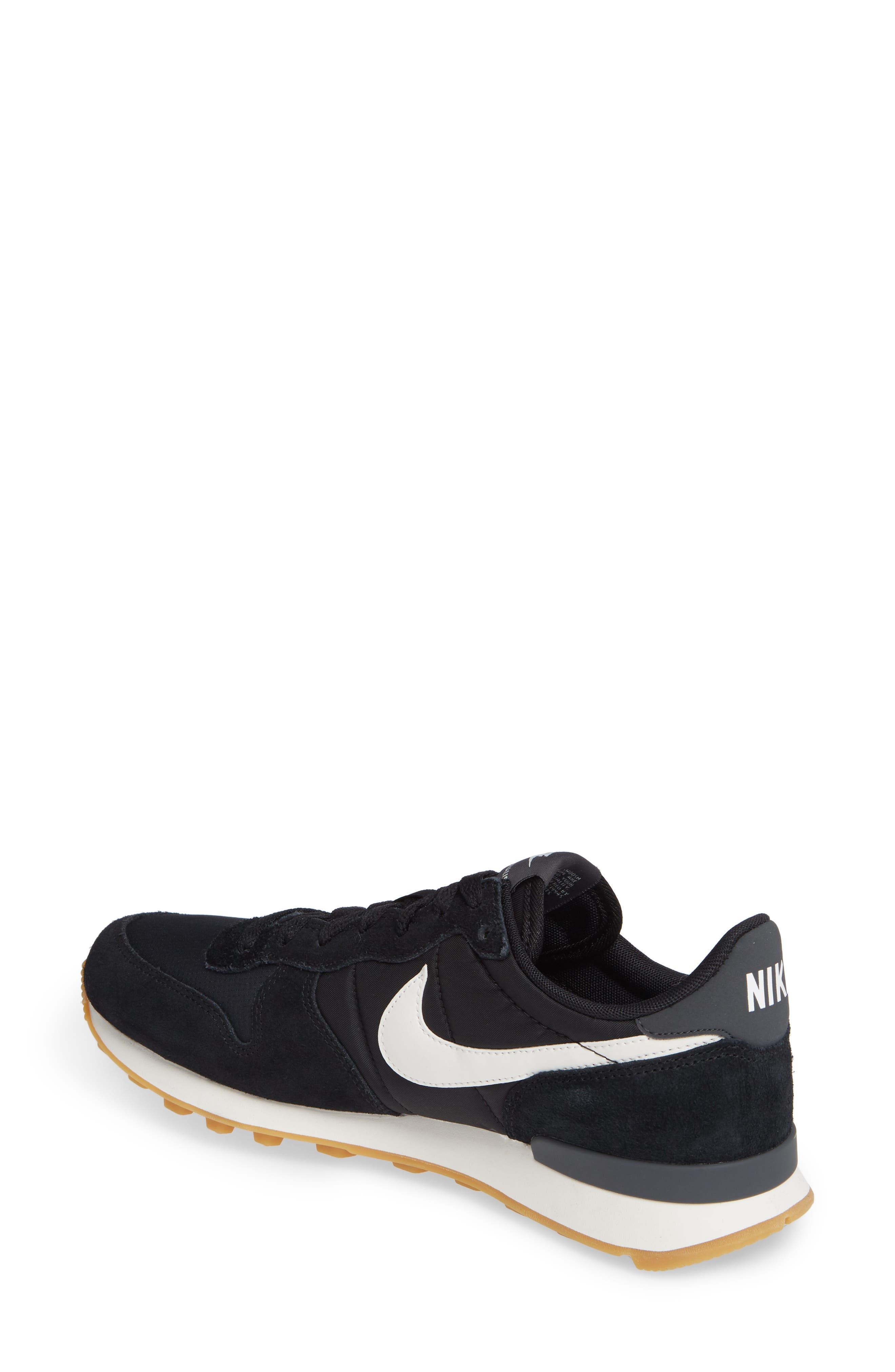 NIKE, 'Internationalist' Sneaker, Alternate thumbnail 2, color, 001