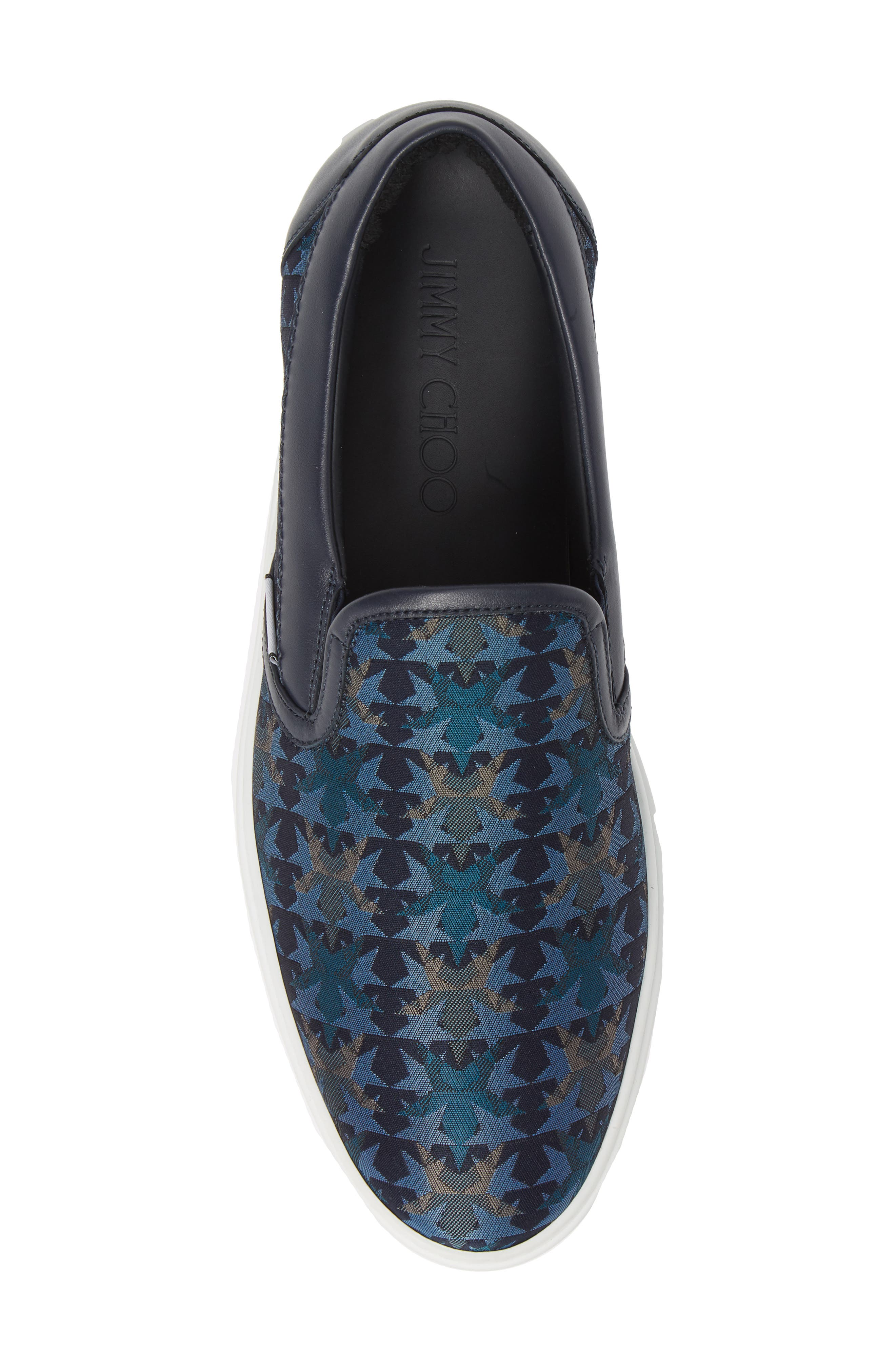 JIMMY CHOO, Grove Slip-On, Alternate thumbnail 5, color, 420