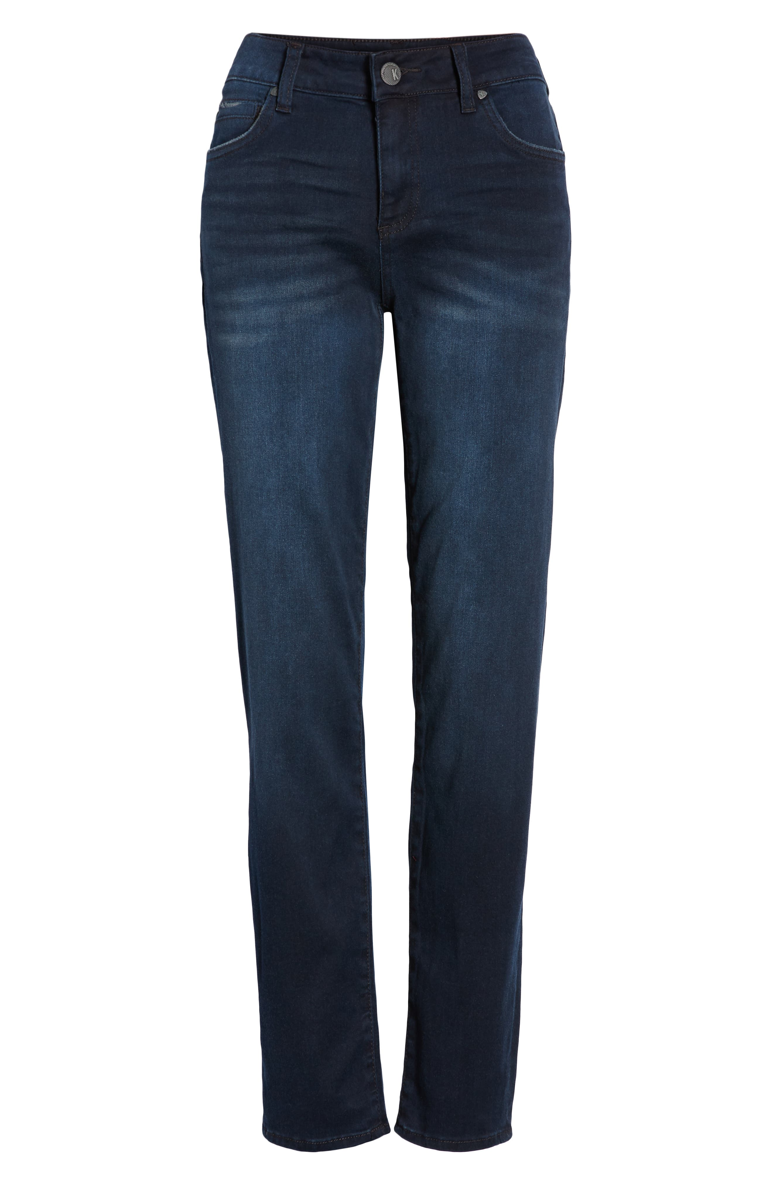 KUT FROM THE KLOTH, Diana Skinny Jeans, Alternate thumbnail 7, color, ART W/ EURO BASE WASH
