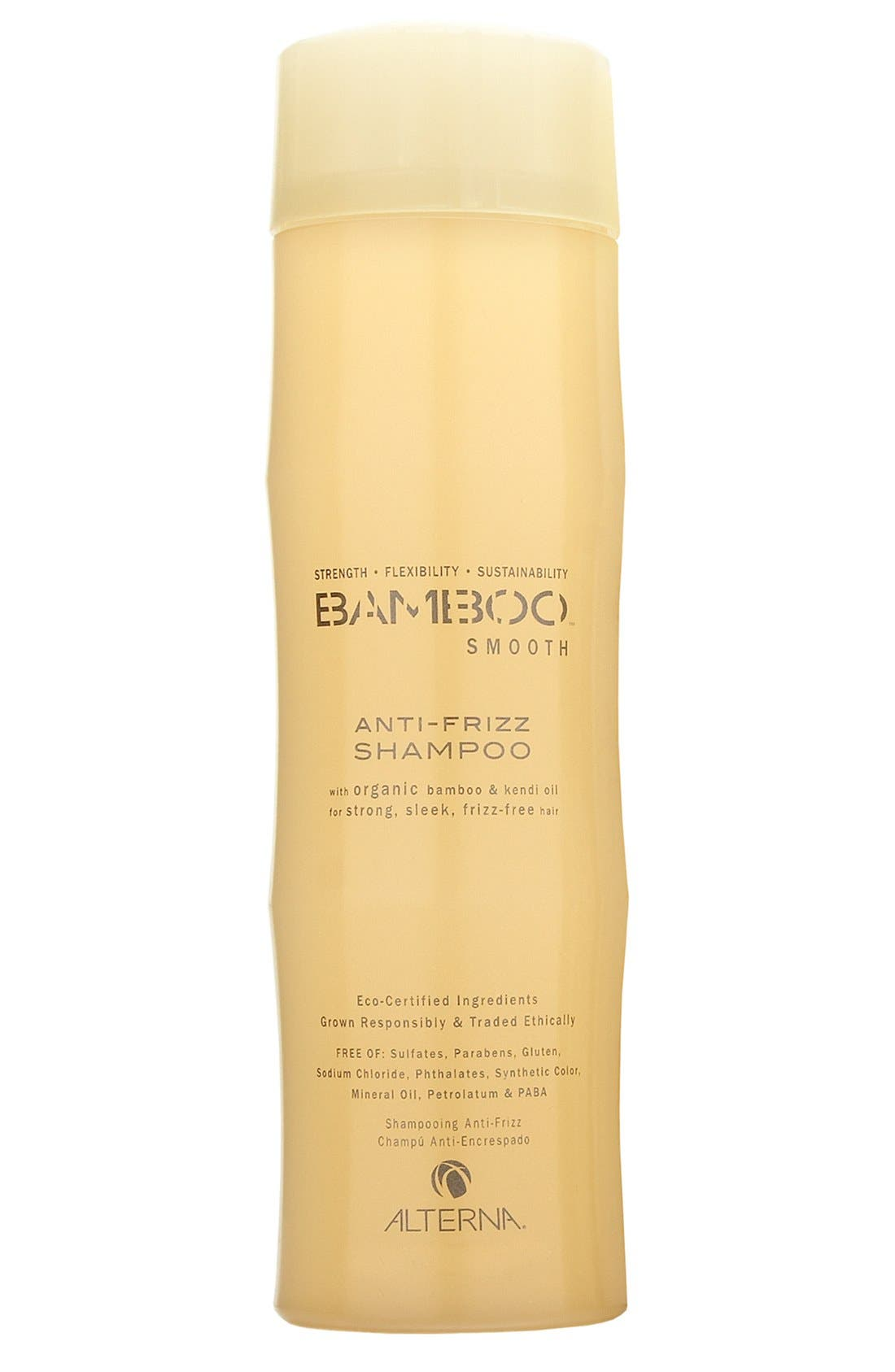 ALTERNA<SUP>®</SUP>, Bamboo Smooth Anti-Frizz Shampoo, Main thumbnail 1, color, 000