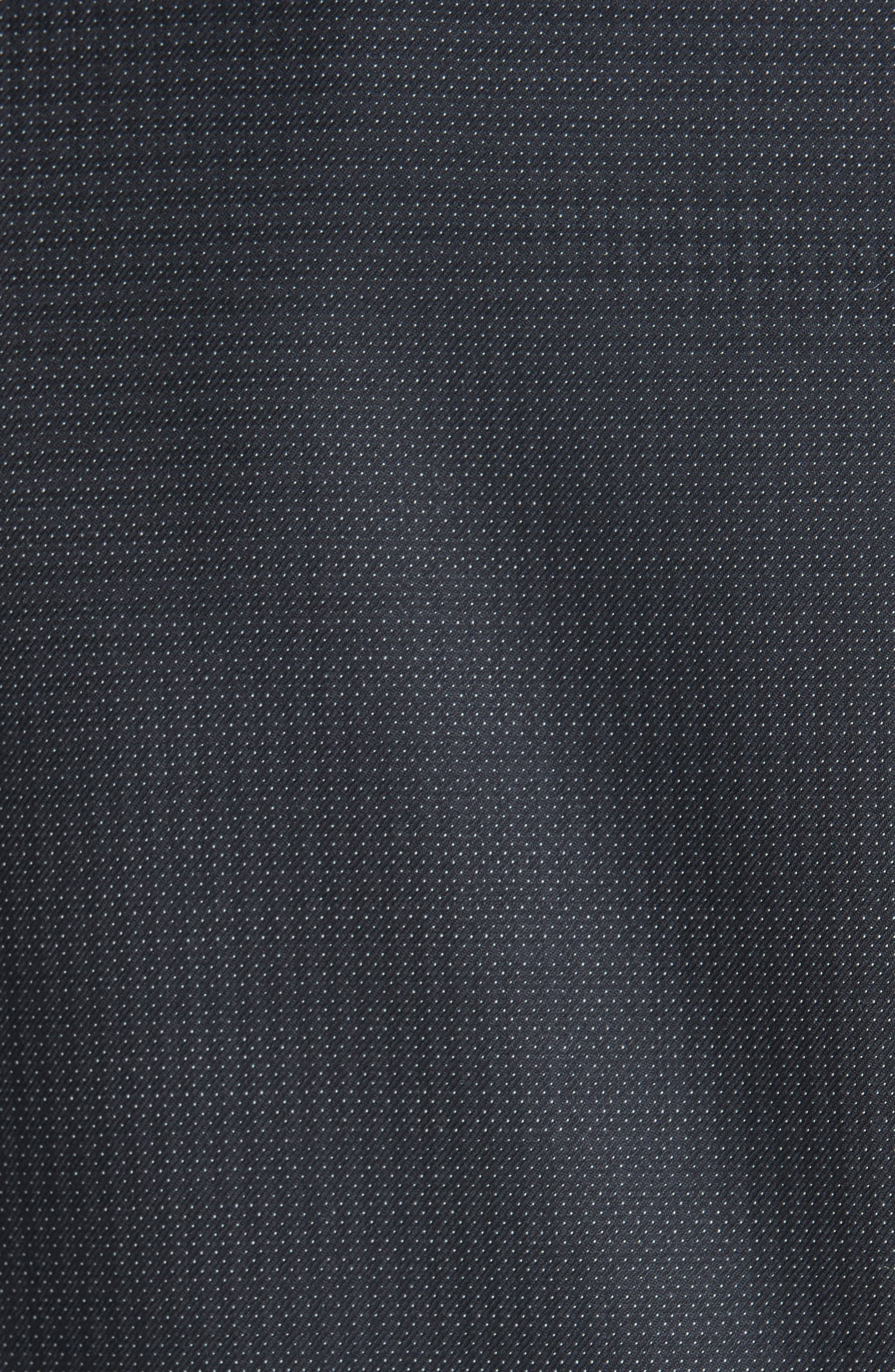 CANALI, Classic Fit Wool Tuxedo, Alternate thumbnail 7, color, CHARCOAL
