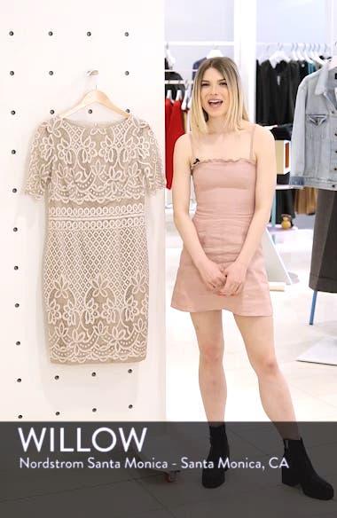 Lace Sheath Dress, sales video thumbnail