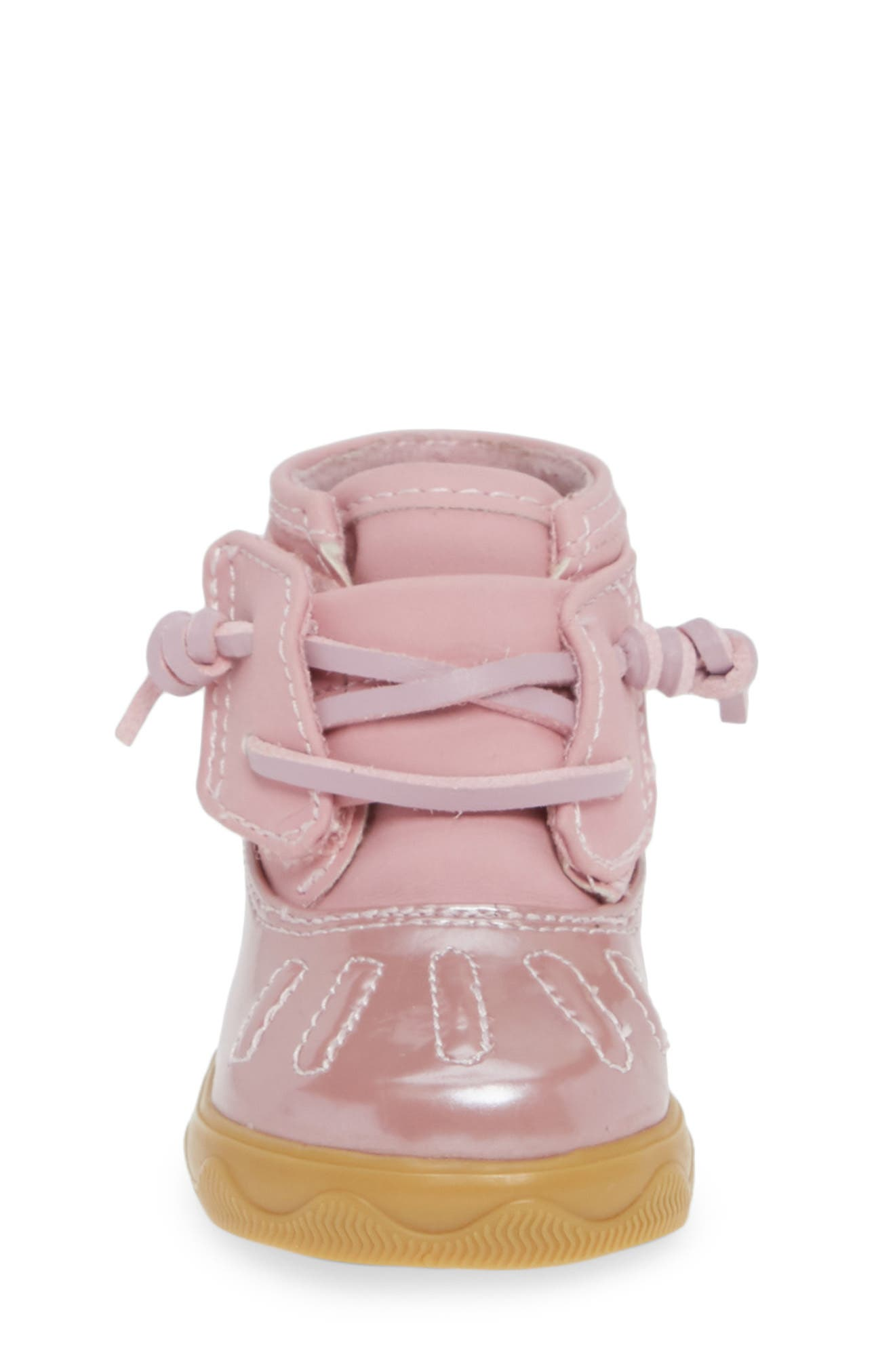 SPERRY KIDS, Sperry Icestorm Crib Duck Bootie, Alternate thumbnail 4, color, 650
