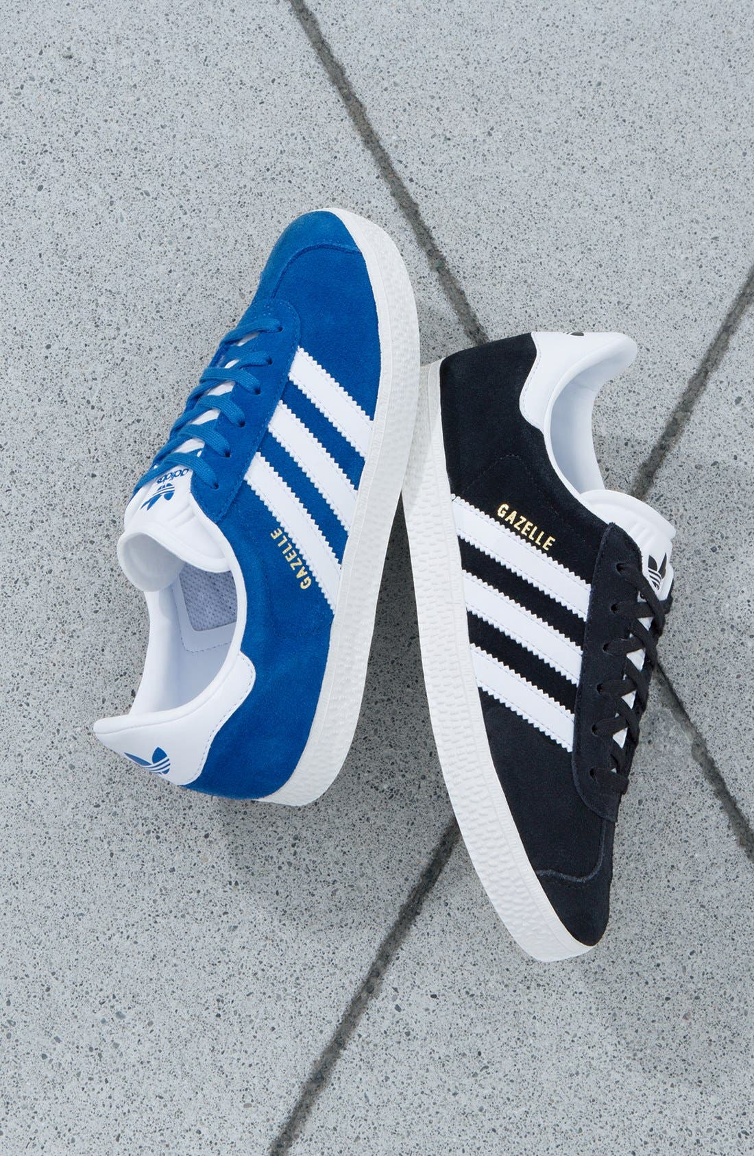 ADIDAS, Gazelle Sneaker, Alternate thumbnail 11, color, 003