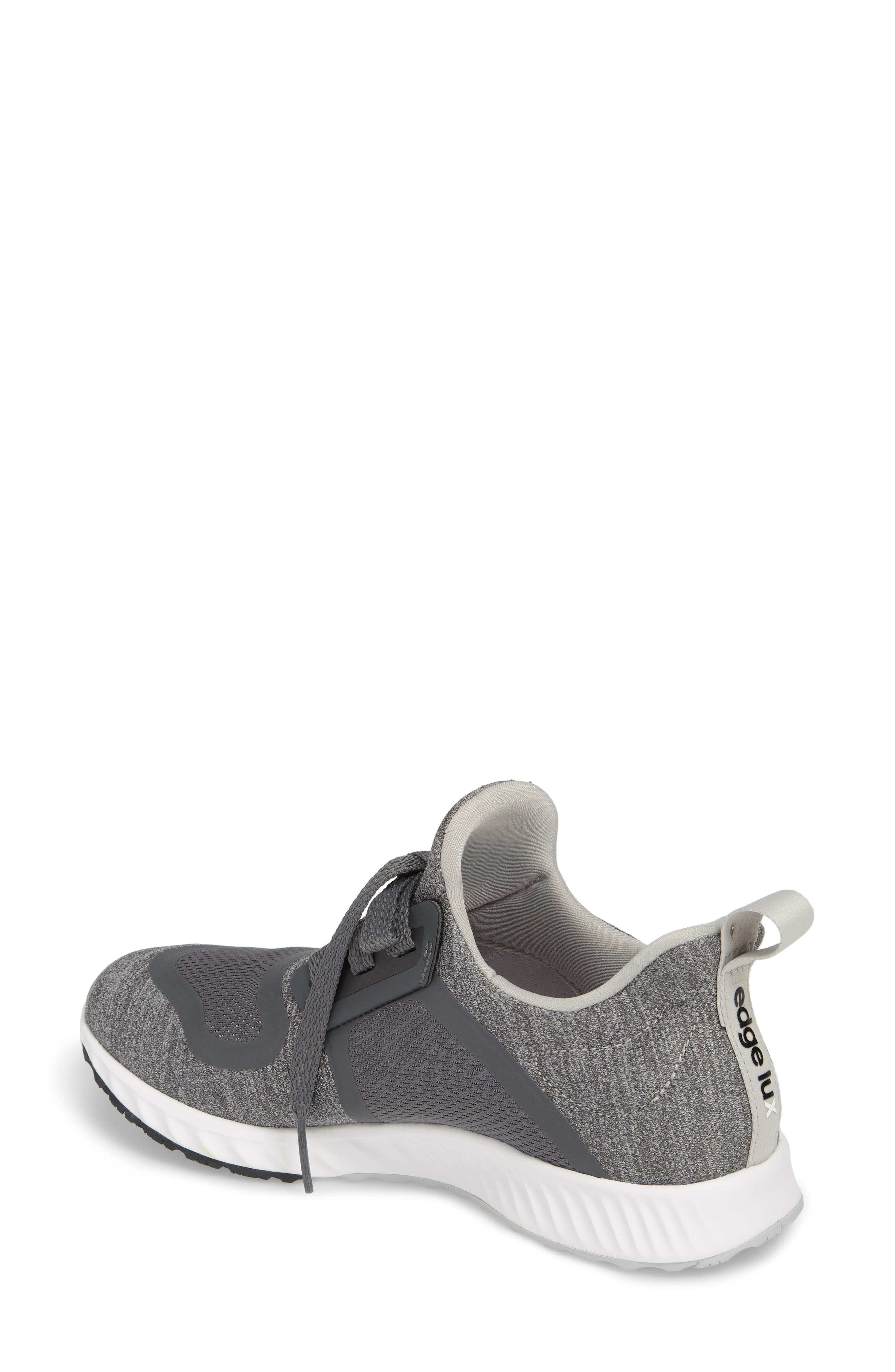 ADIDAS, Edge Lux Clima Running Shoe, Alternate thumbnail 2, color, 033