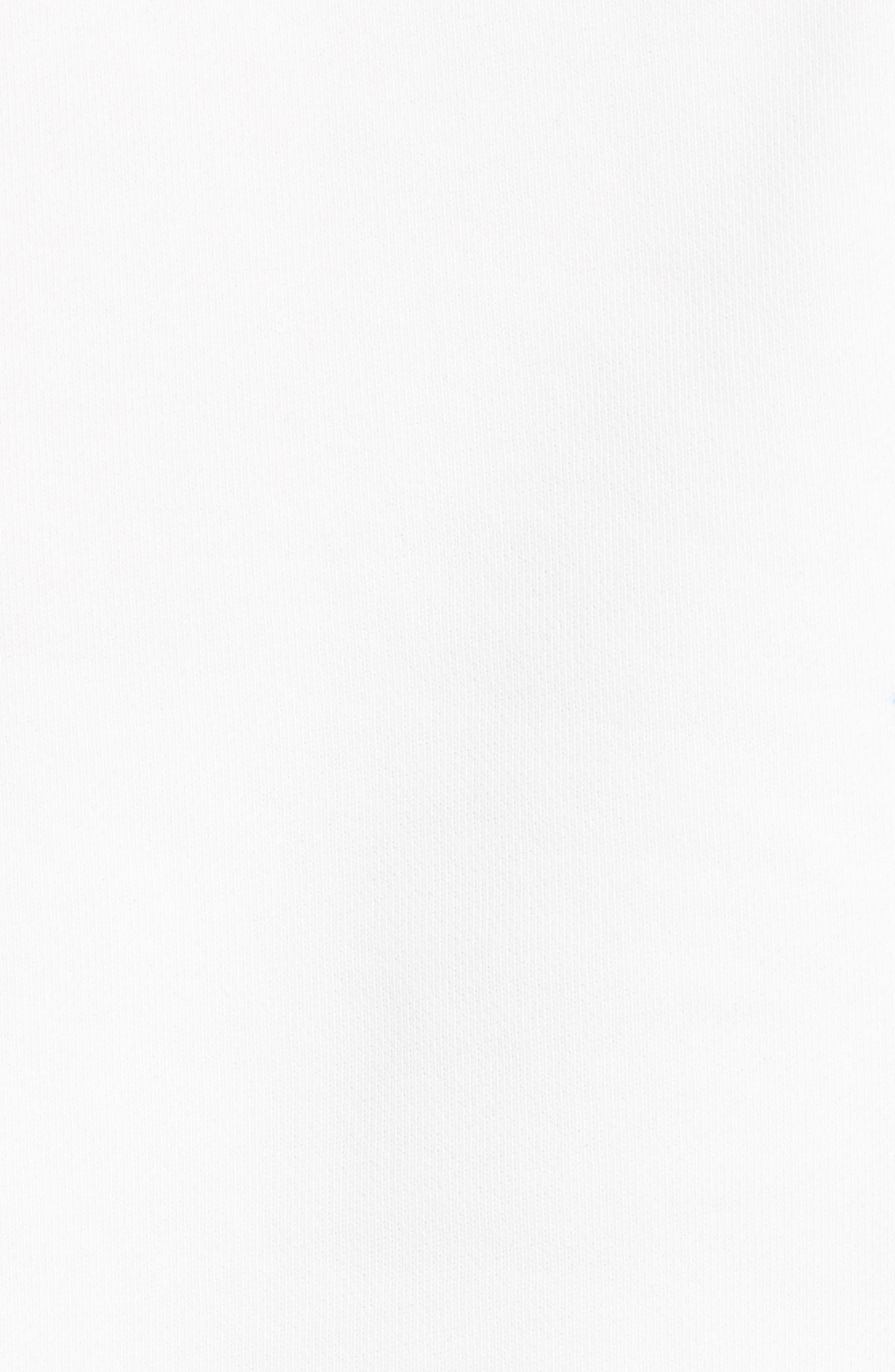DRIES VAN NOTEN, Haendel Hand Painted Floral Top, Alternate thumbnail 5, color, BLACK