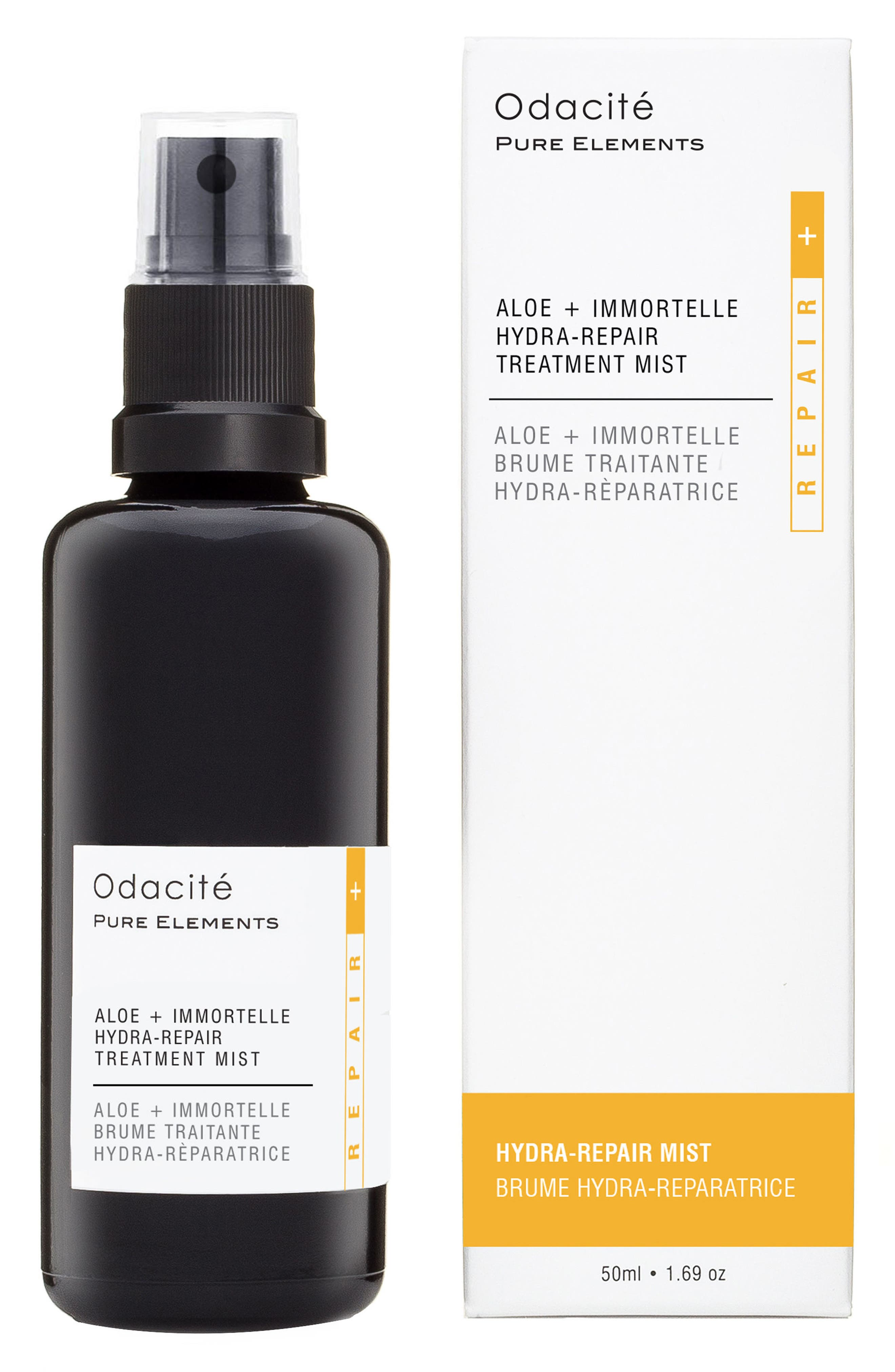 ODACITÉ, Aloe + Immortelle Hydra Repair Treatment Mist, Main thumbnail 1, color, NO COLOR